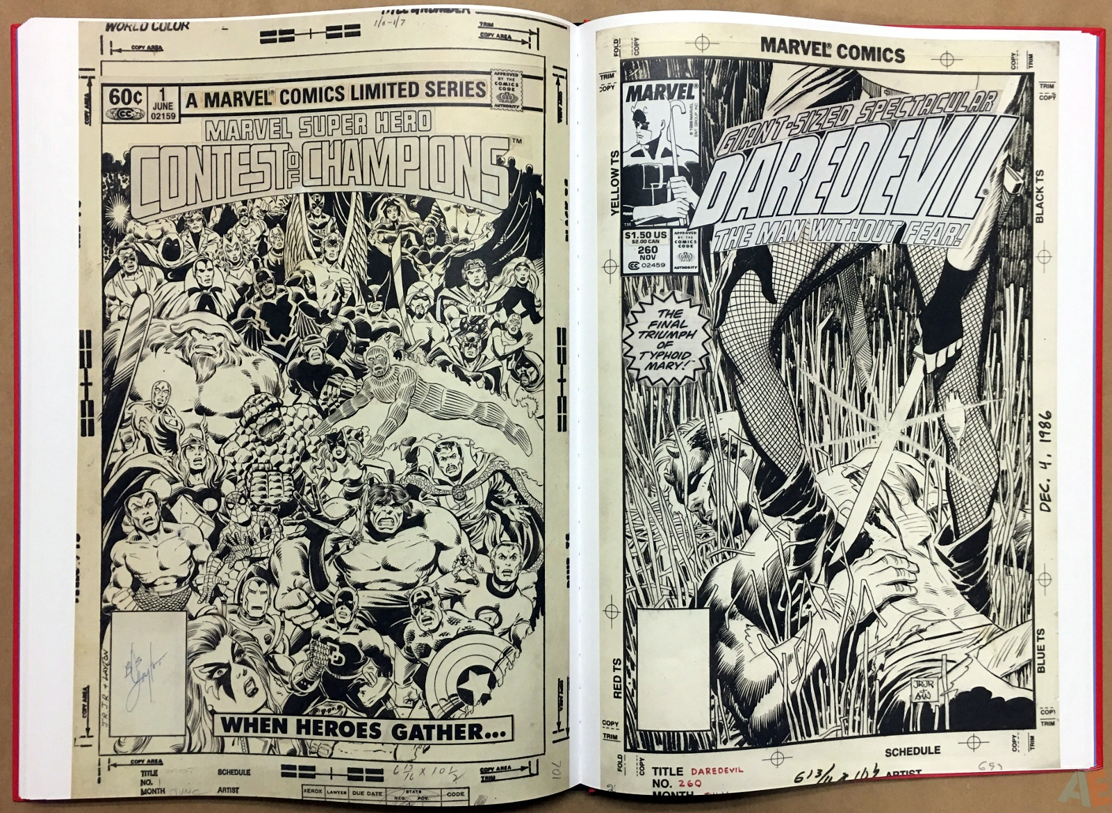Marvel Covers Artist's Edition 38