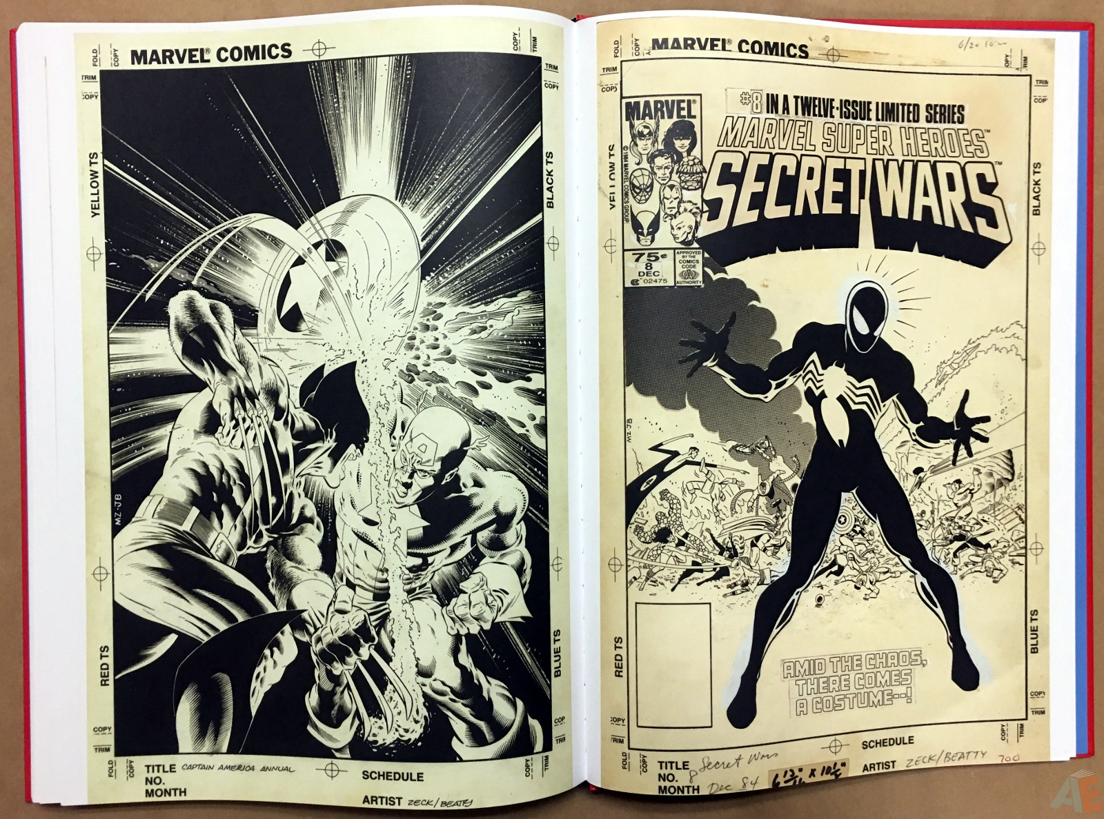 Marvel Covers Artist's Edition 46