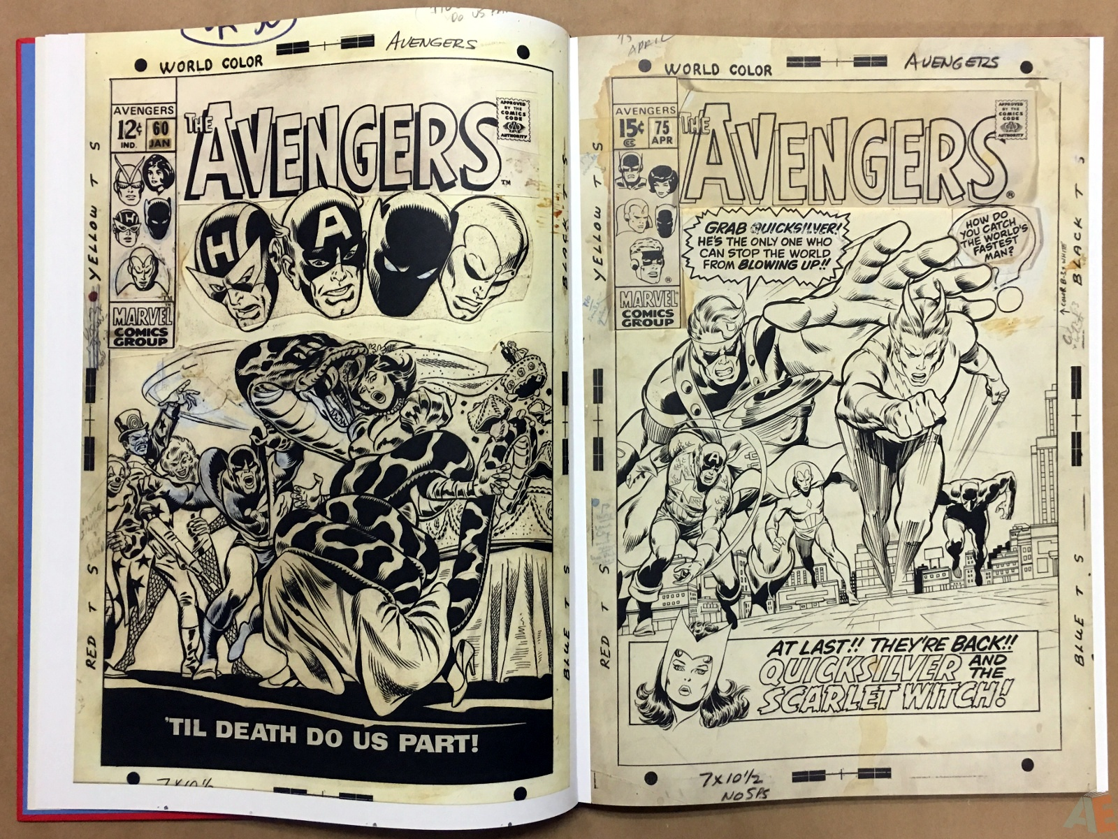 Marvel Covers Artist's Edition 12