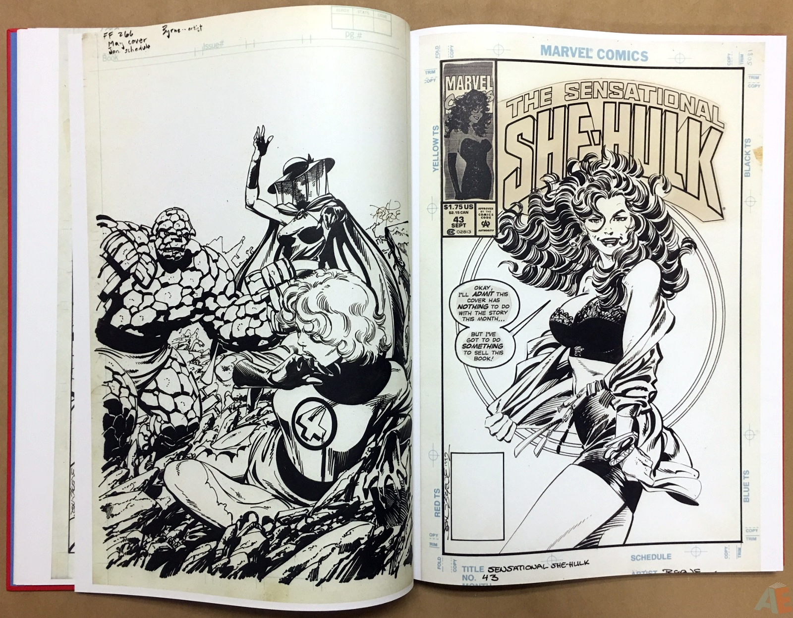 Marvel Covers Artist's Edition 14