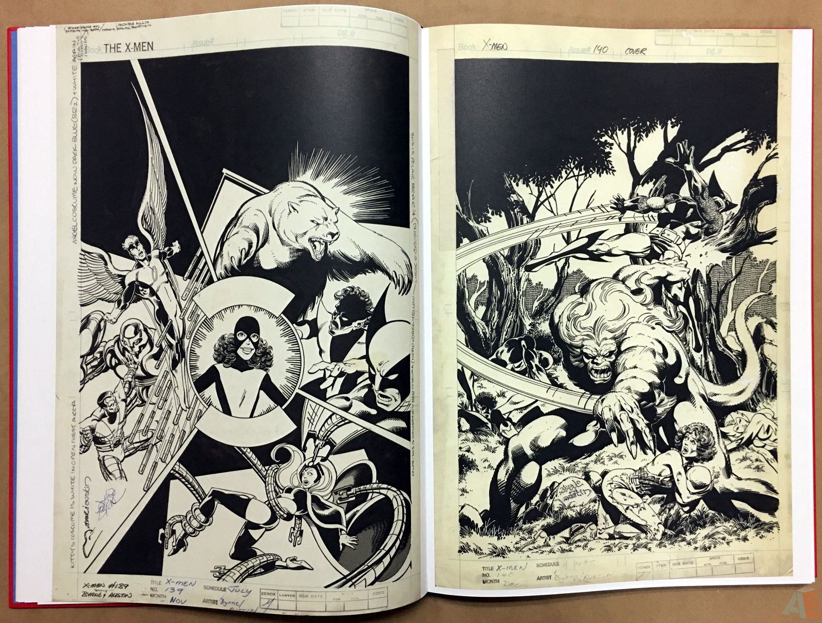 Marvel Covers Artist's Edition 16
