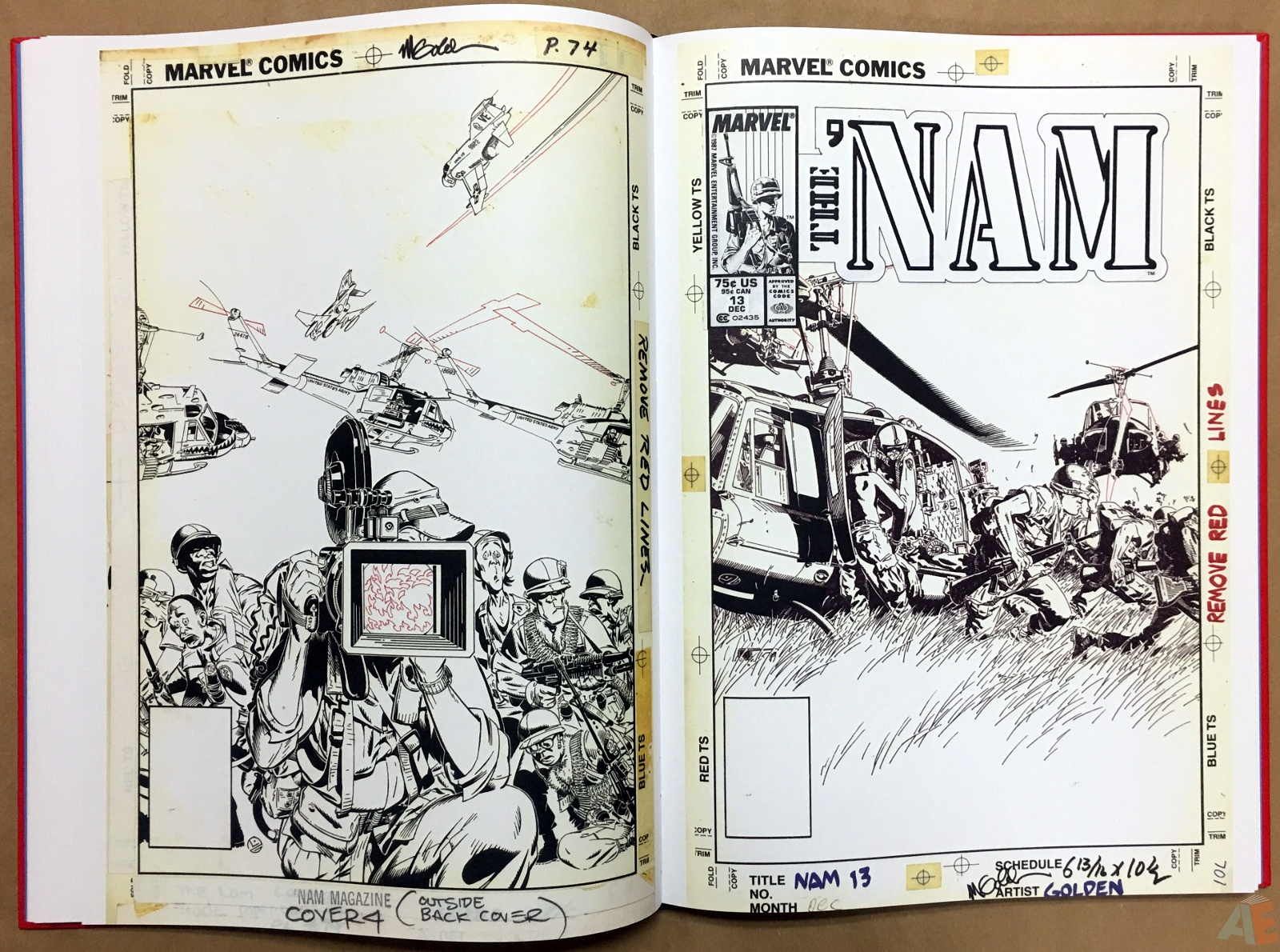 Marvel Covers Artist's Edition 20