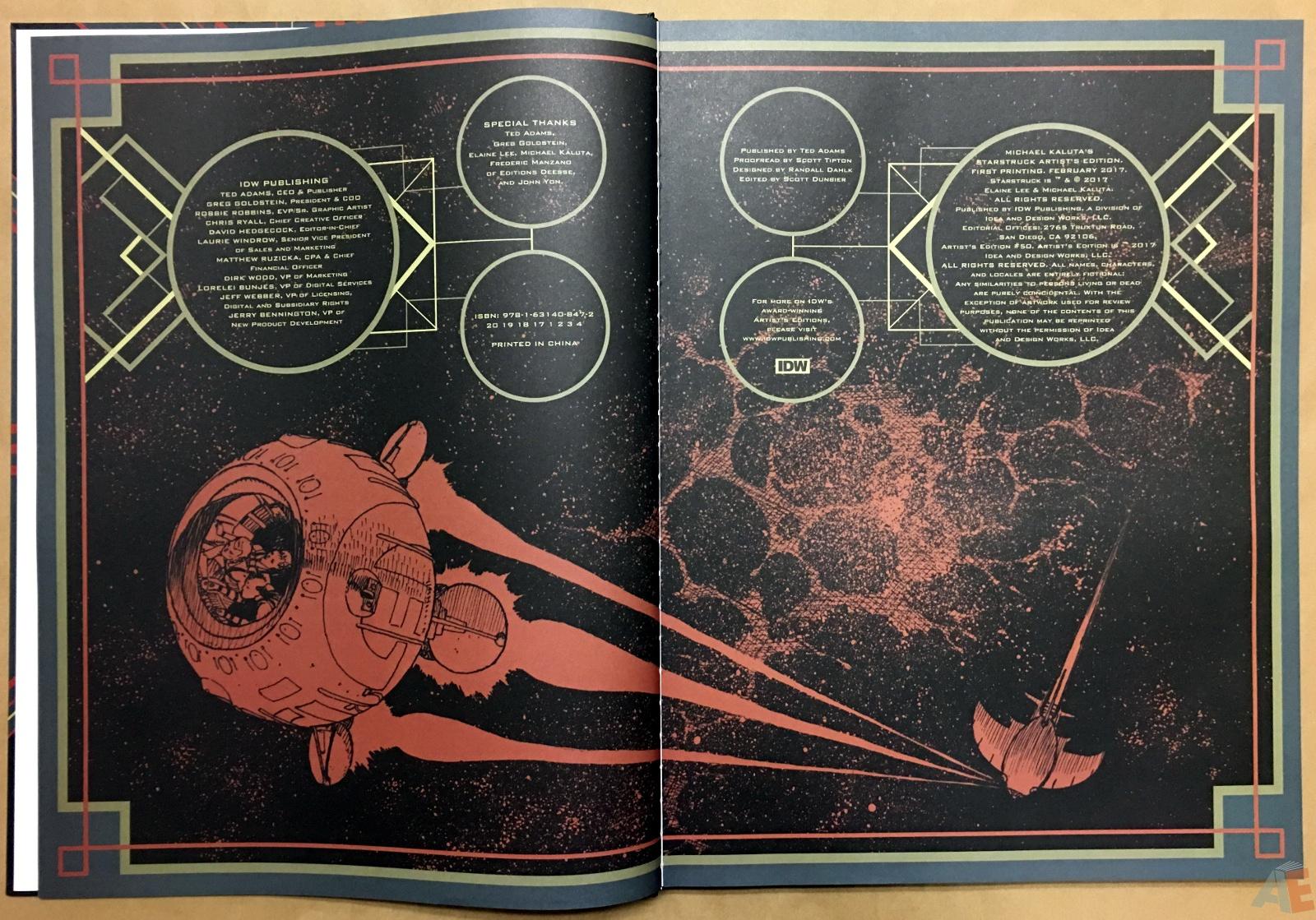 Michael Kaluta's Starstruck Artist's Edition 4