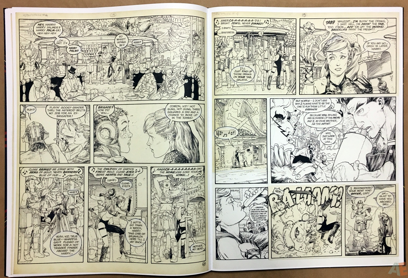 Michael Kaluta's Starstruck Artist's Edition 24