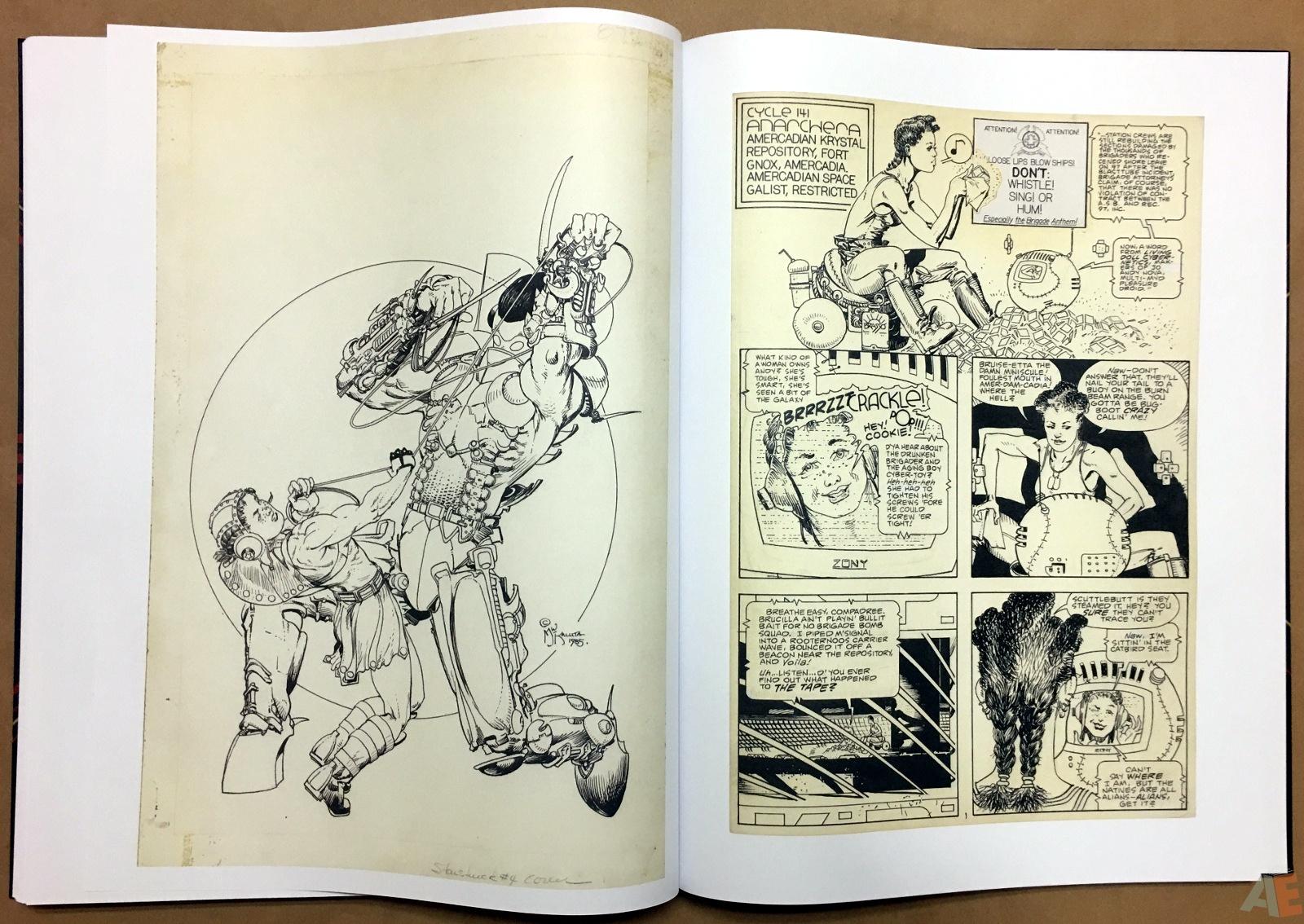 Michael Kaluta's Starstruck Artist's Edition 38