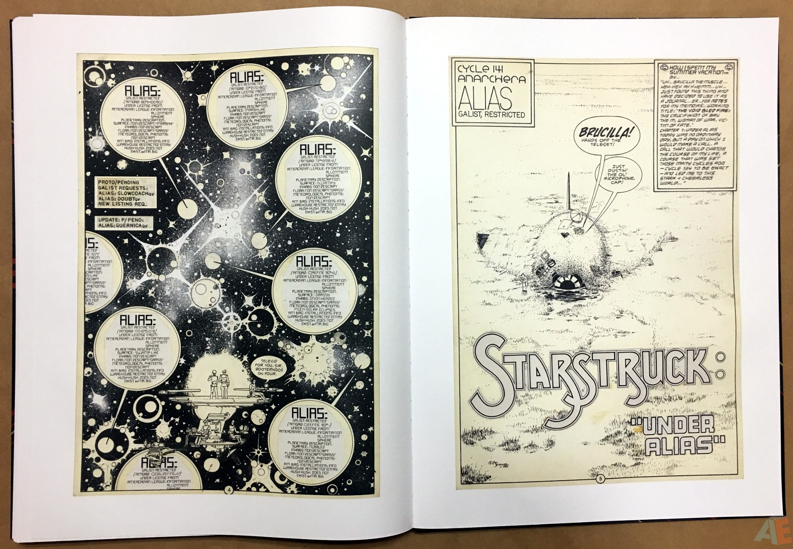 Michael Kaluta's Starstruck Artist's Edition 40