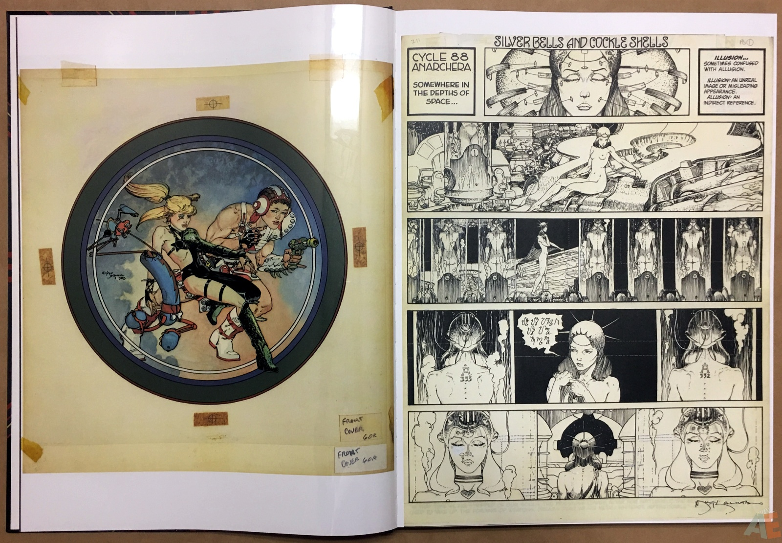 Michael Kaluta's Starstruck Artist's Edition 8