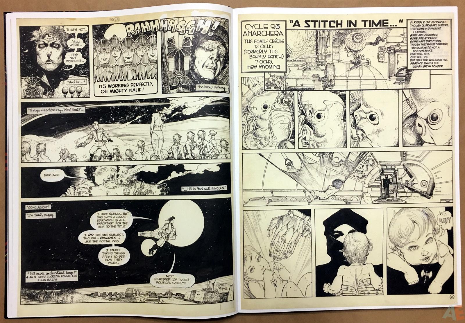Michael Kaluta's Starstruck Artist's Edition 14