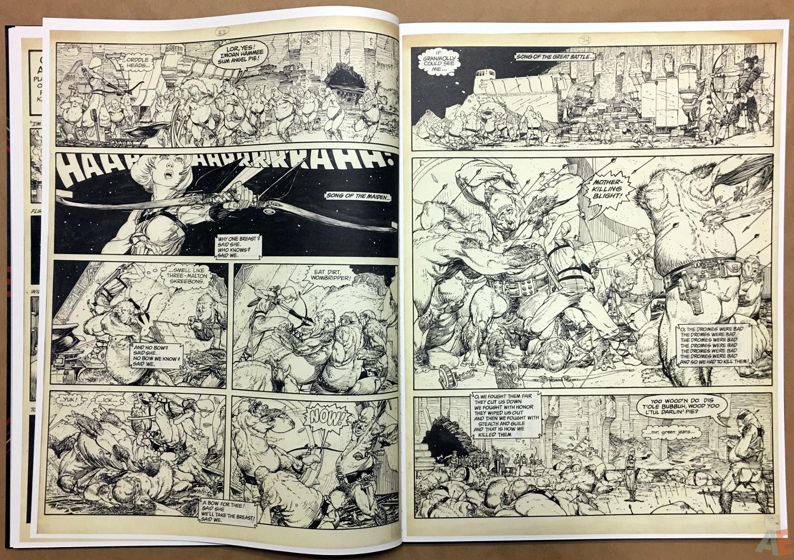 Michael Kaluta's Starstruck Artist's Edition 16