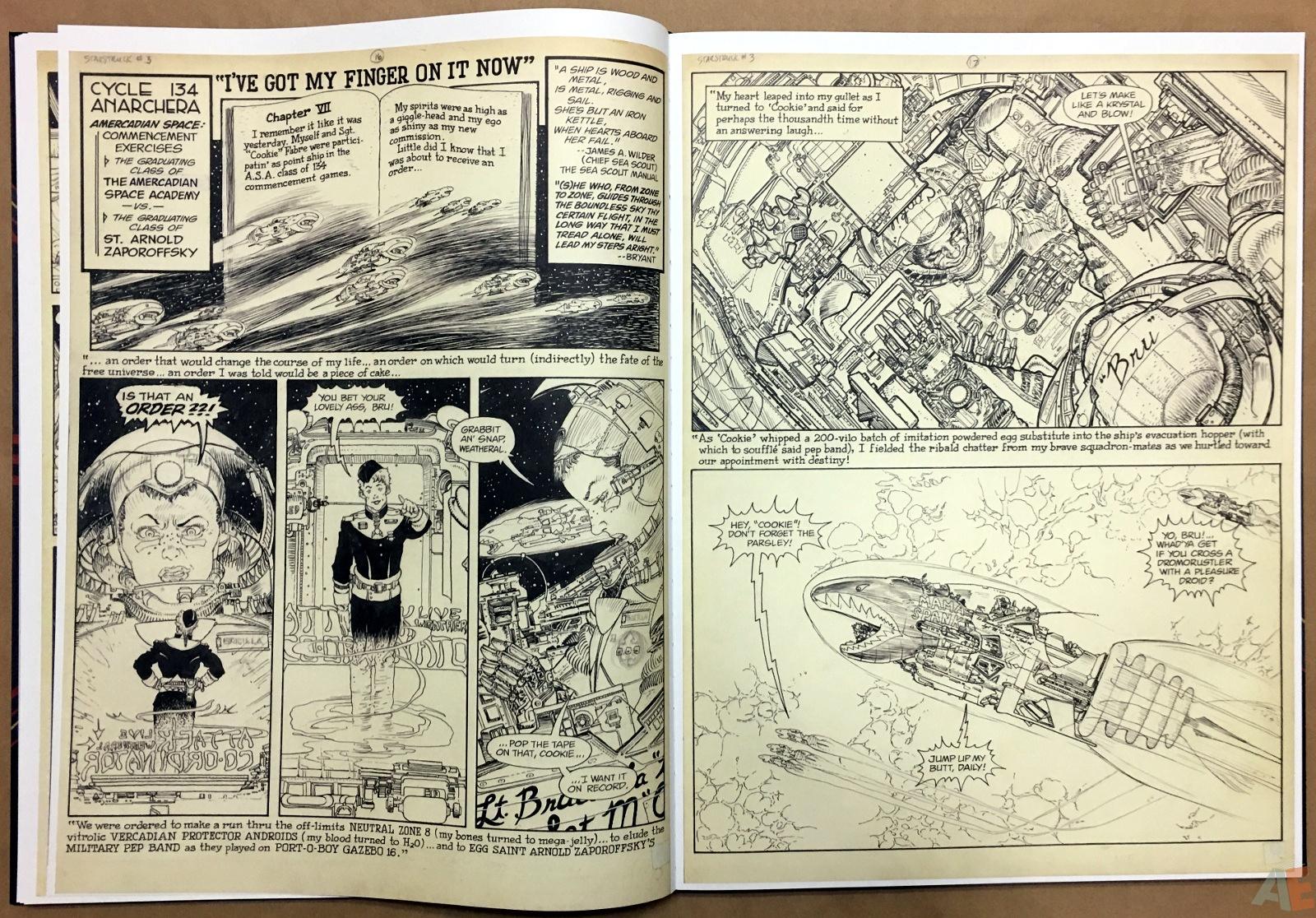 Michael Kaluta's Starstruck Artist's Edition 18