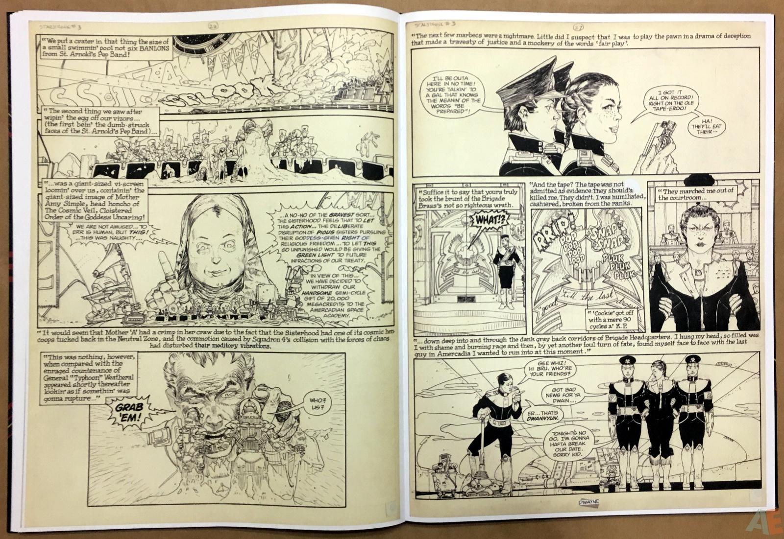 Michael Kaluta's Starstruck Artist's Edition 20