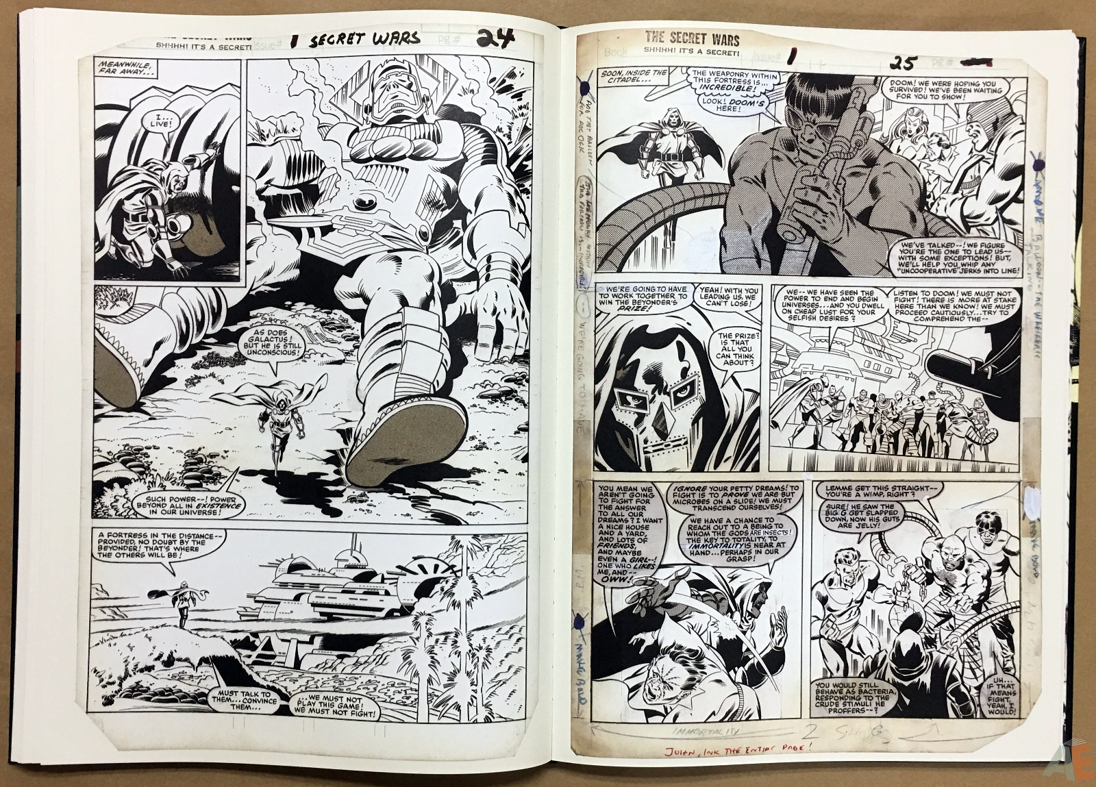 Mike Zeck's Classic Marvel Stories Artist's Edition 30