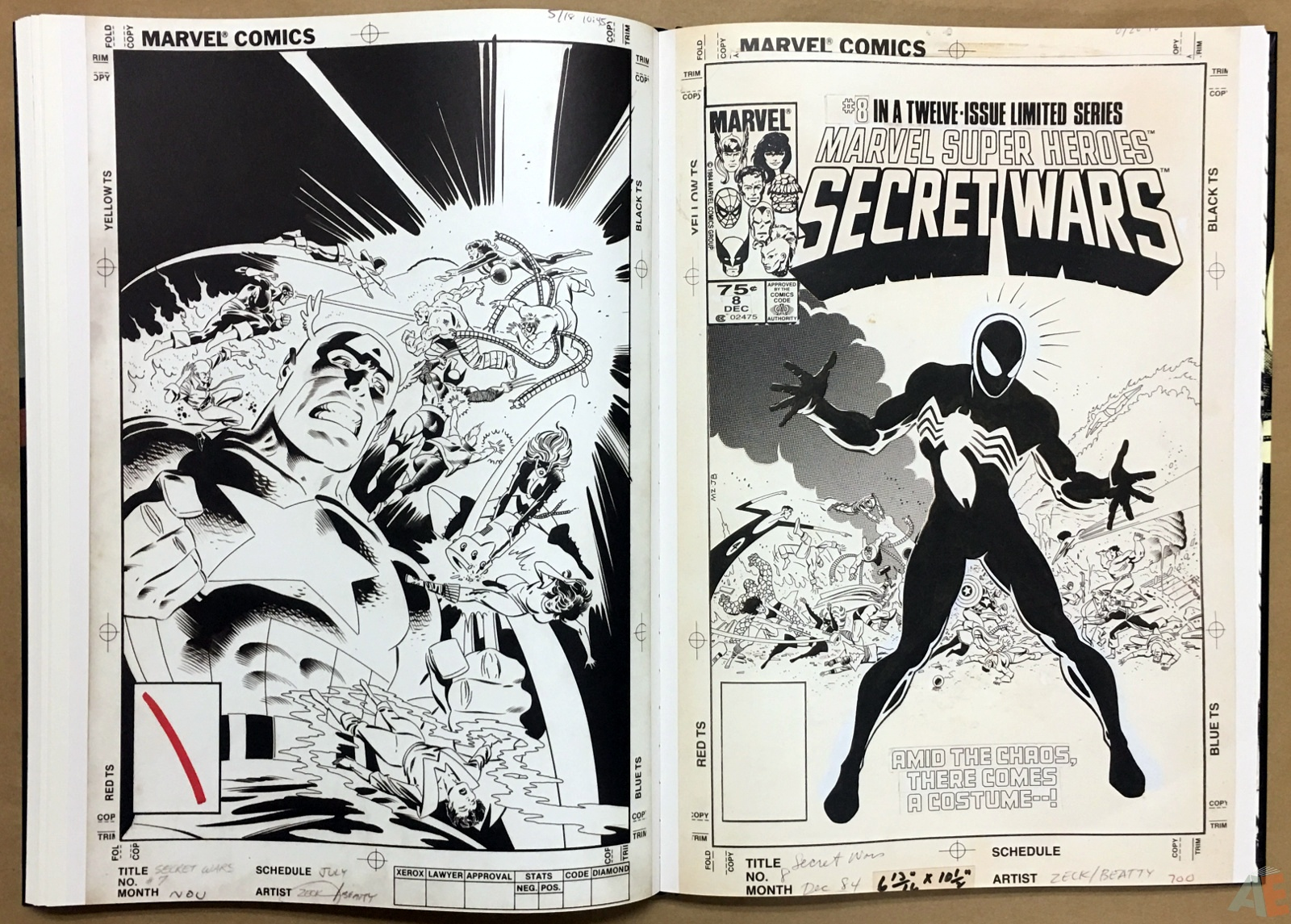 Mike Zeck's Classic Marvel Stories Artist's Edition 32