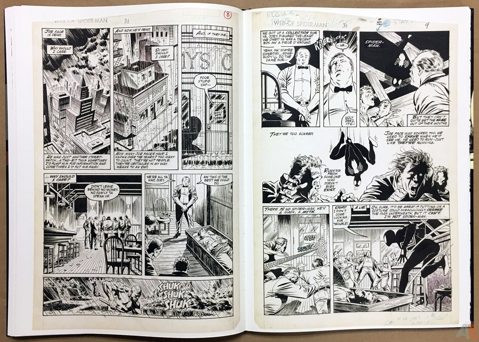 Mike Zeck's Classic Marvel Stories Artist's Edition 34