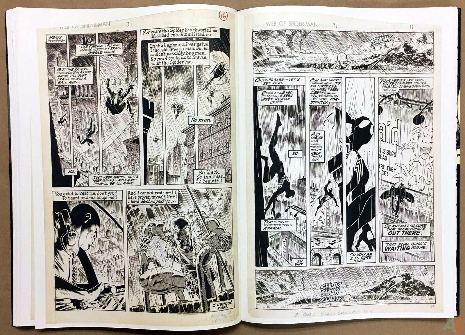 Mike Zeck's Classic Marvel Stories Artist's Edition 36