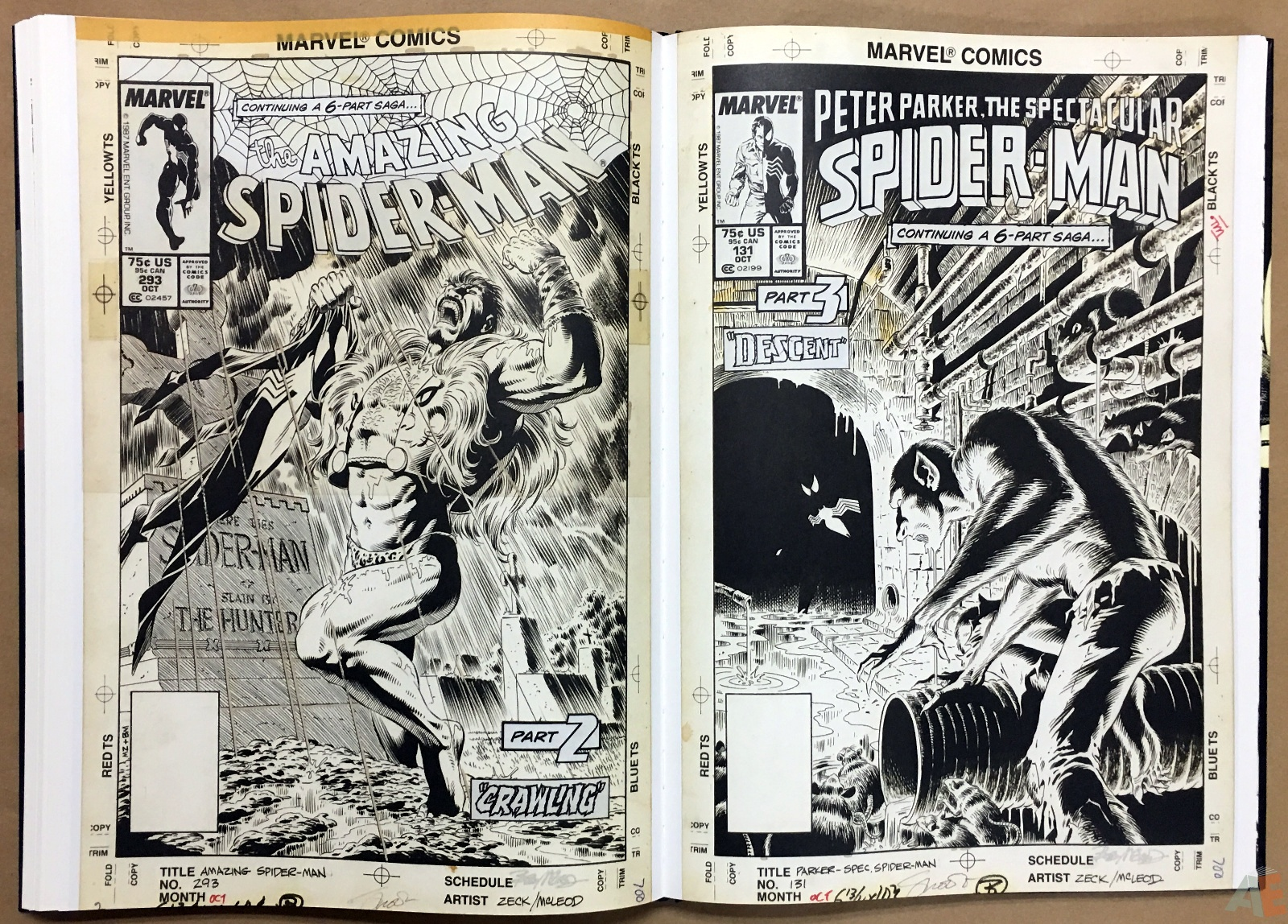 Mike Zeck's Classic Marvel Stories Artist's Edition 38