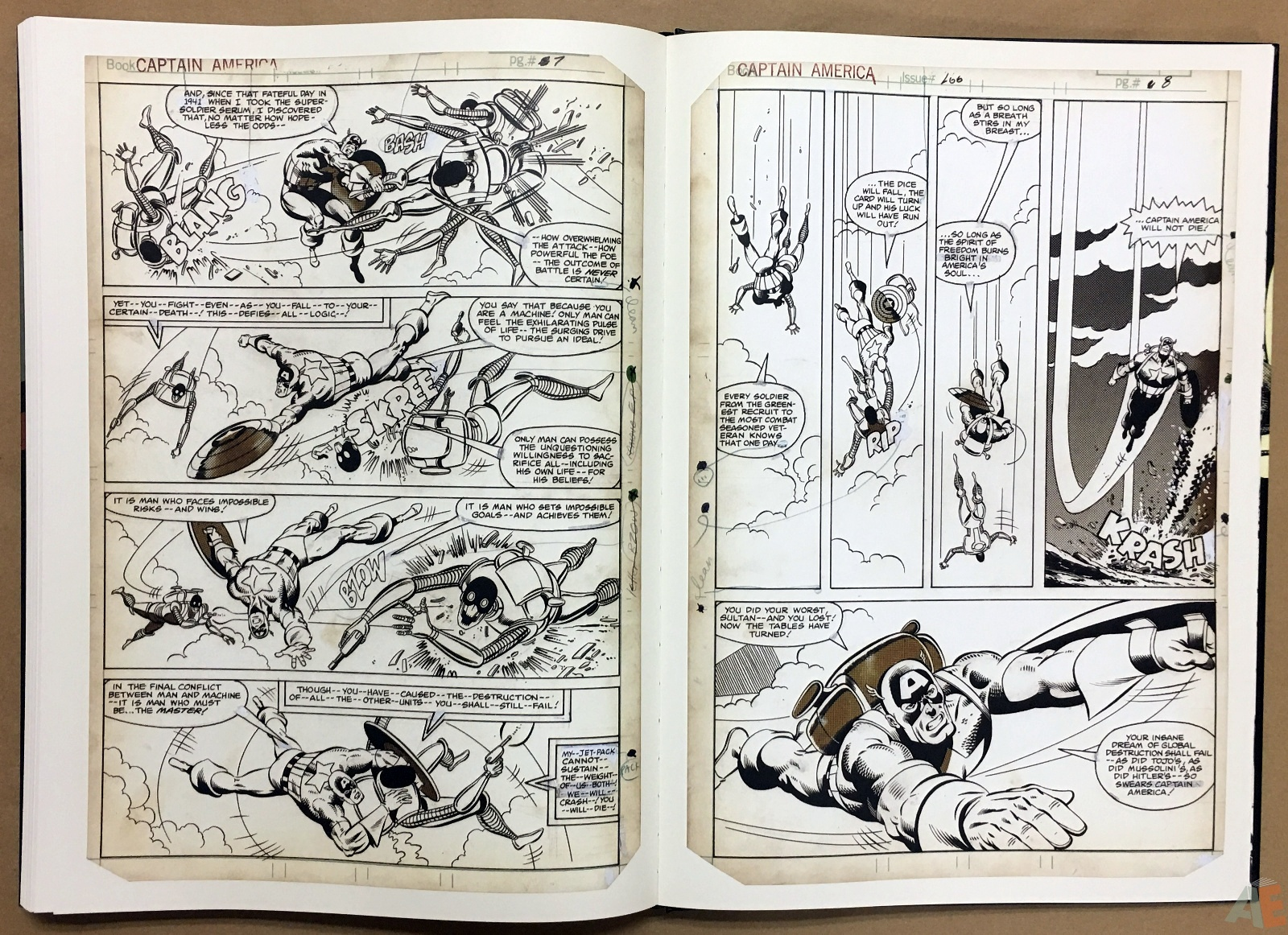 Mike Zeck's Classic Marvel Stories Artist's Edition 44