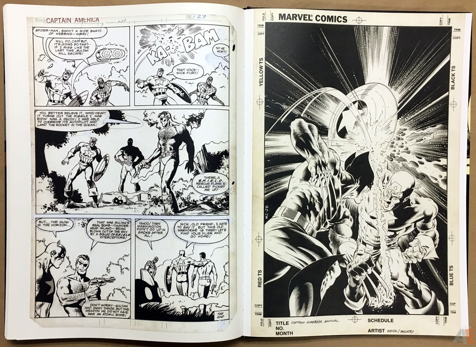 Mike Zeck's Classic Marvel Stories Artist's Edition 46