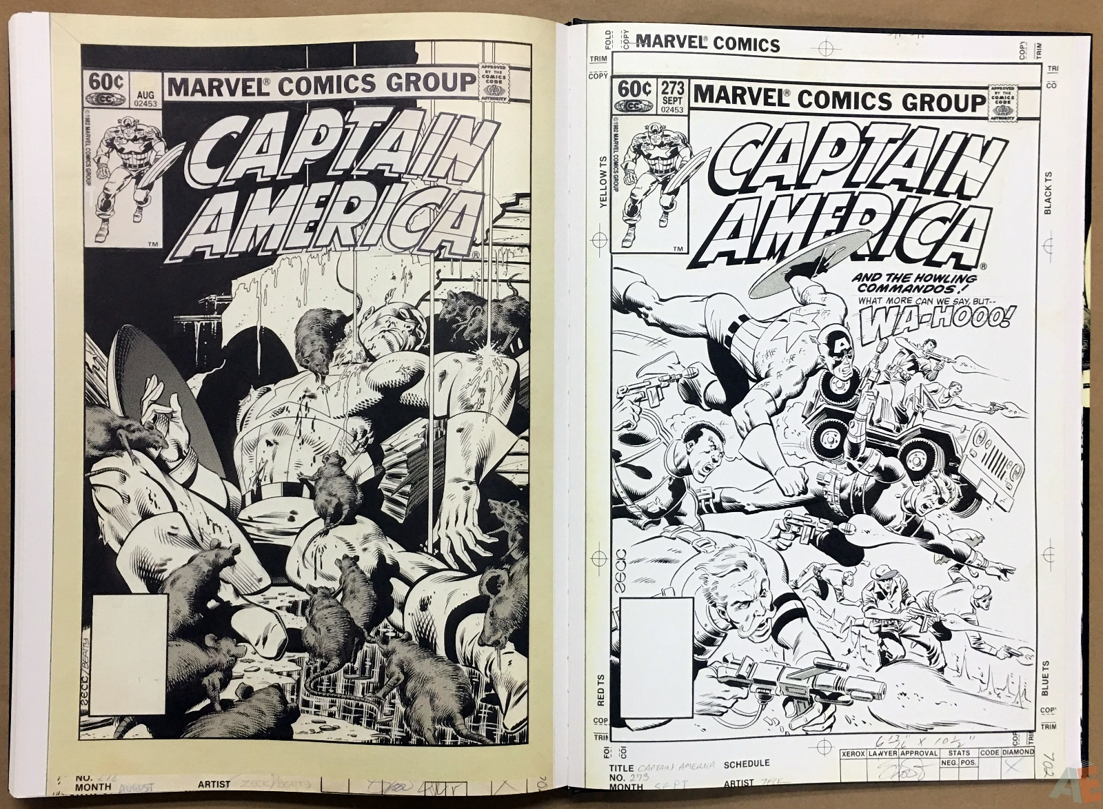 Mike Zeck's Classic Marvel Stories Artist's Edition 48