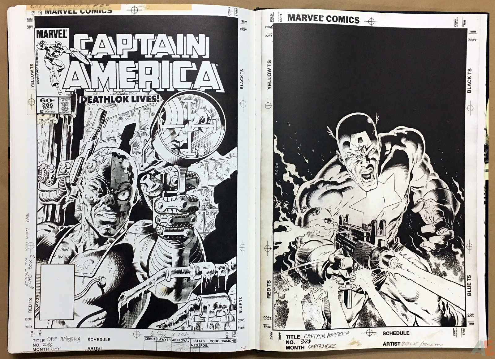 Mike Zeck's Classic Marvel Stories Artist's Edition 50