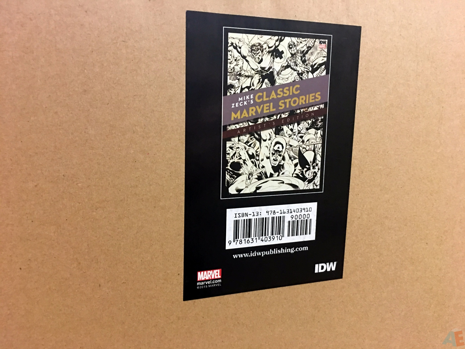 Mike Zeck's Classic Marvel Stories Artist's Edition 54
