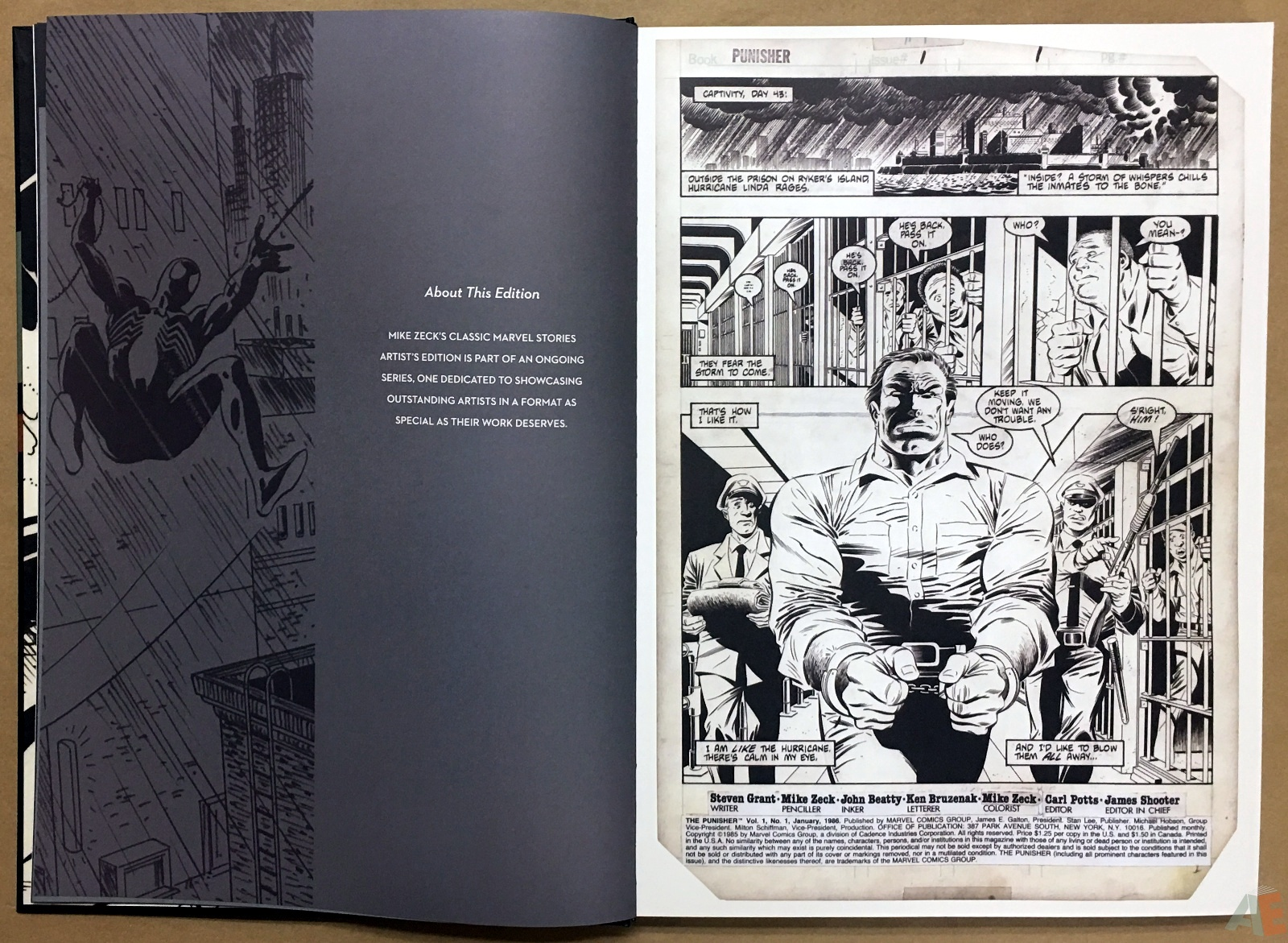 Mike Zeck's Classic Marvel Stories Artist's Edition 8