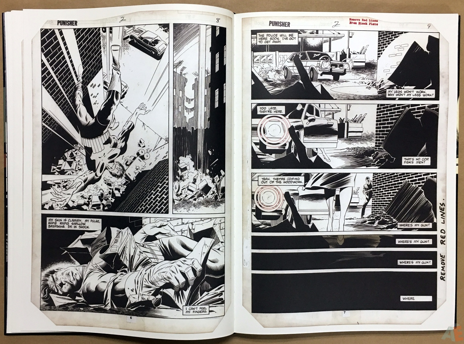 Mike Zeck's Classic Marvel Stories Artist's Edition 16