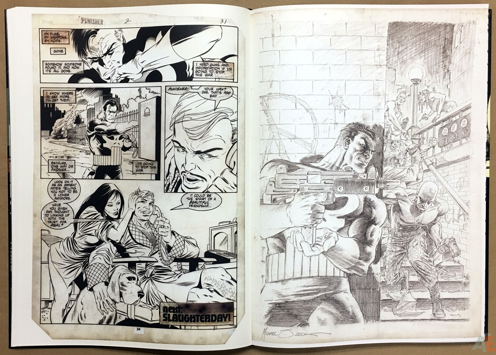 Mike Zeck's Classic Marvel Stories Artist's Edition 20