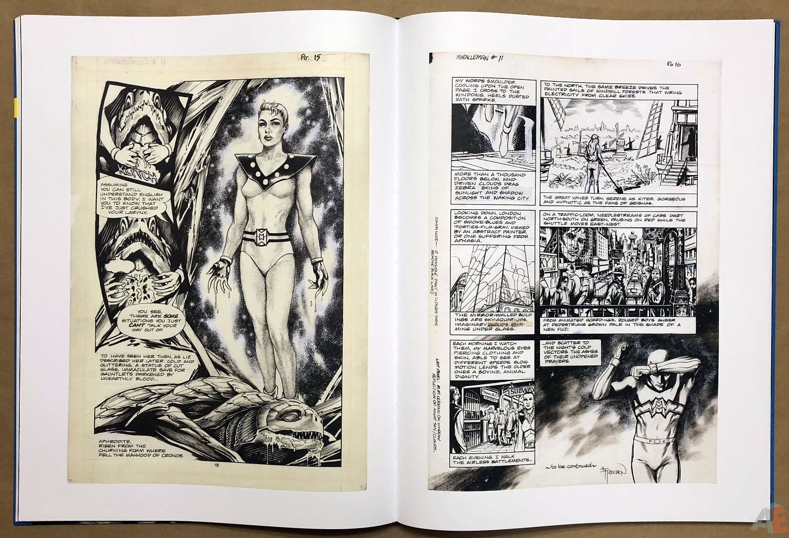 Miracleman Artifact Edition 24