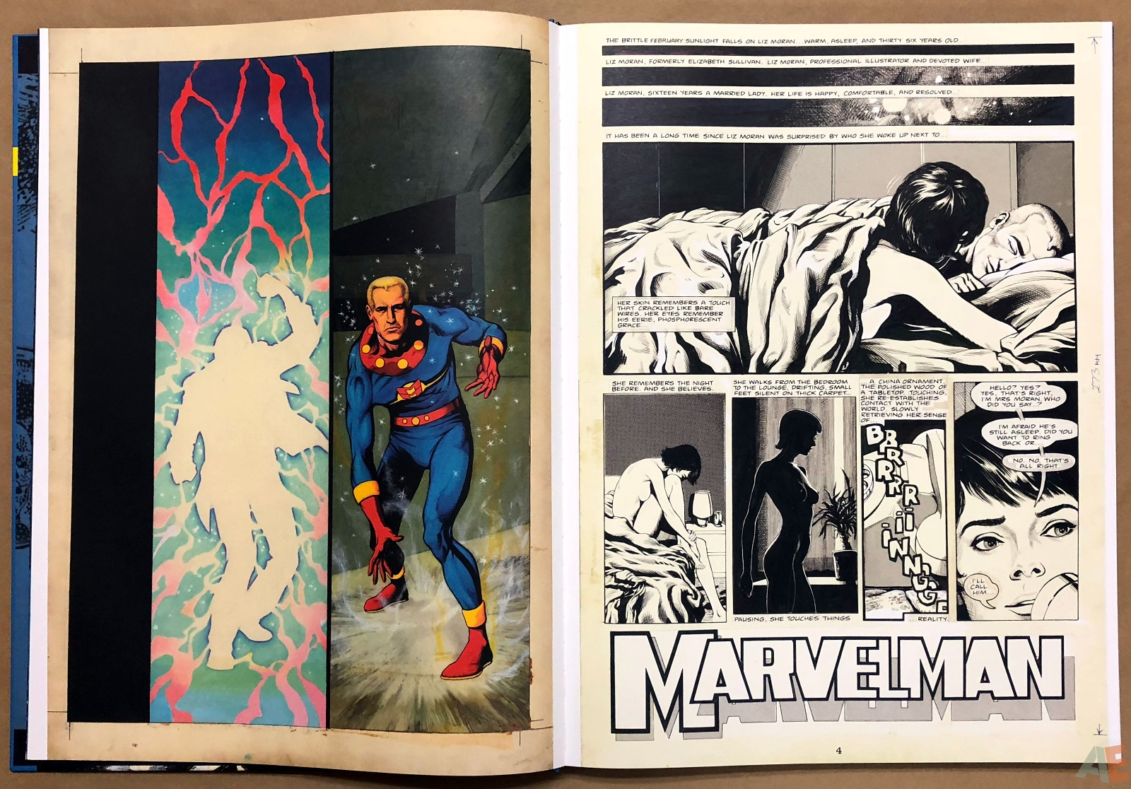 Miracleman Artifact Edition 8
