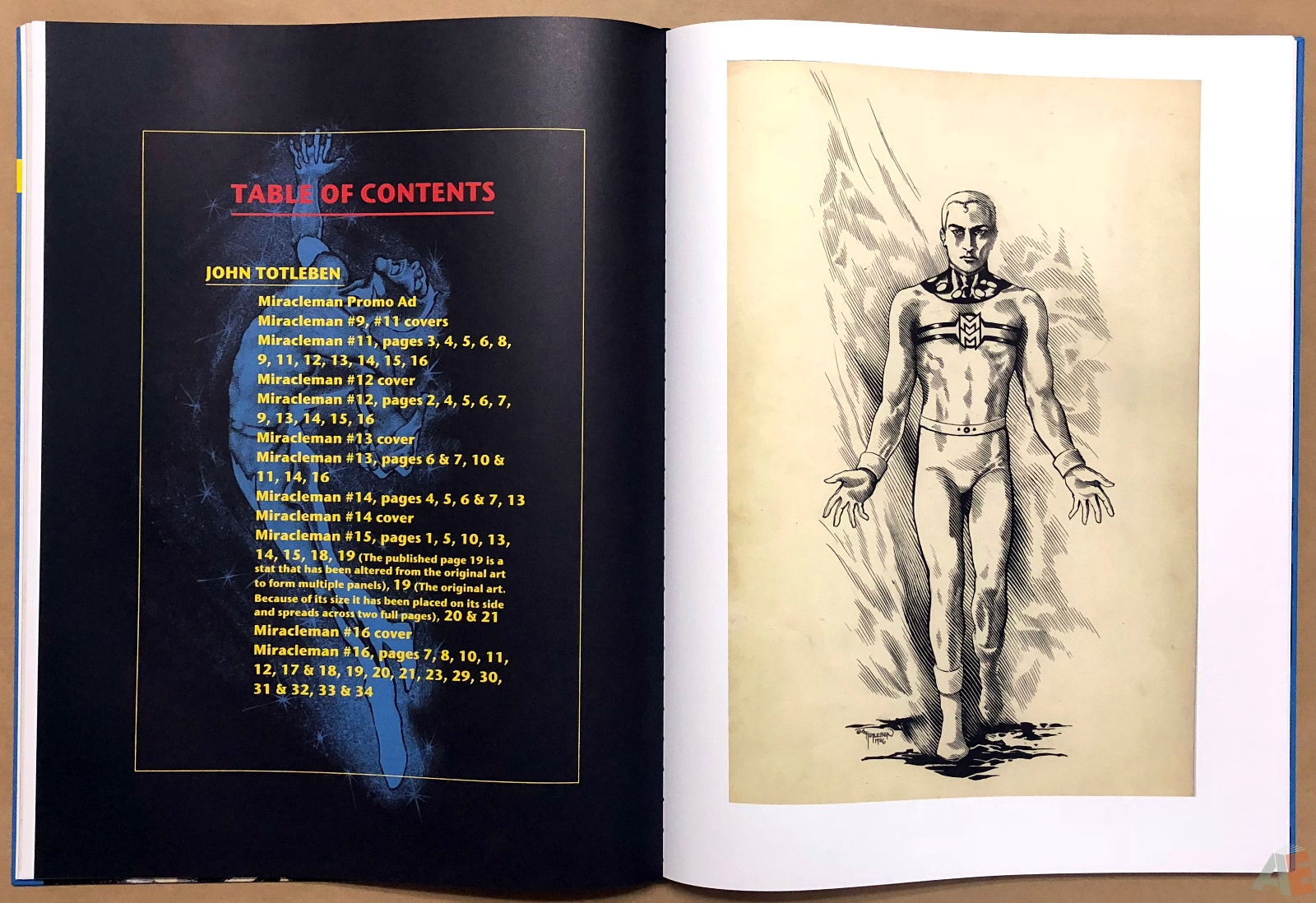 Miracleman Artifact Edition 20