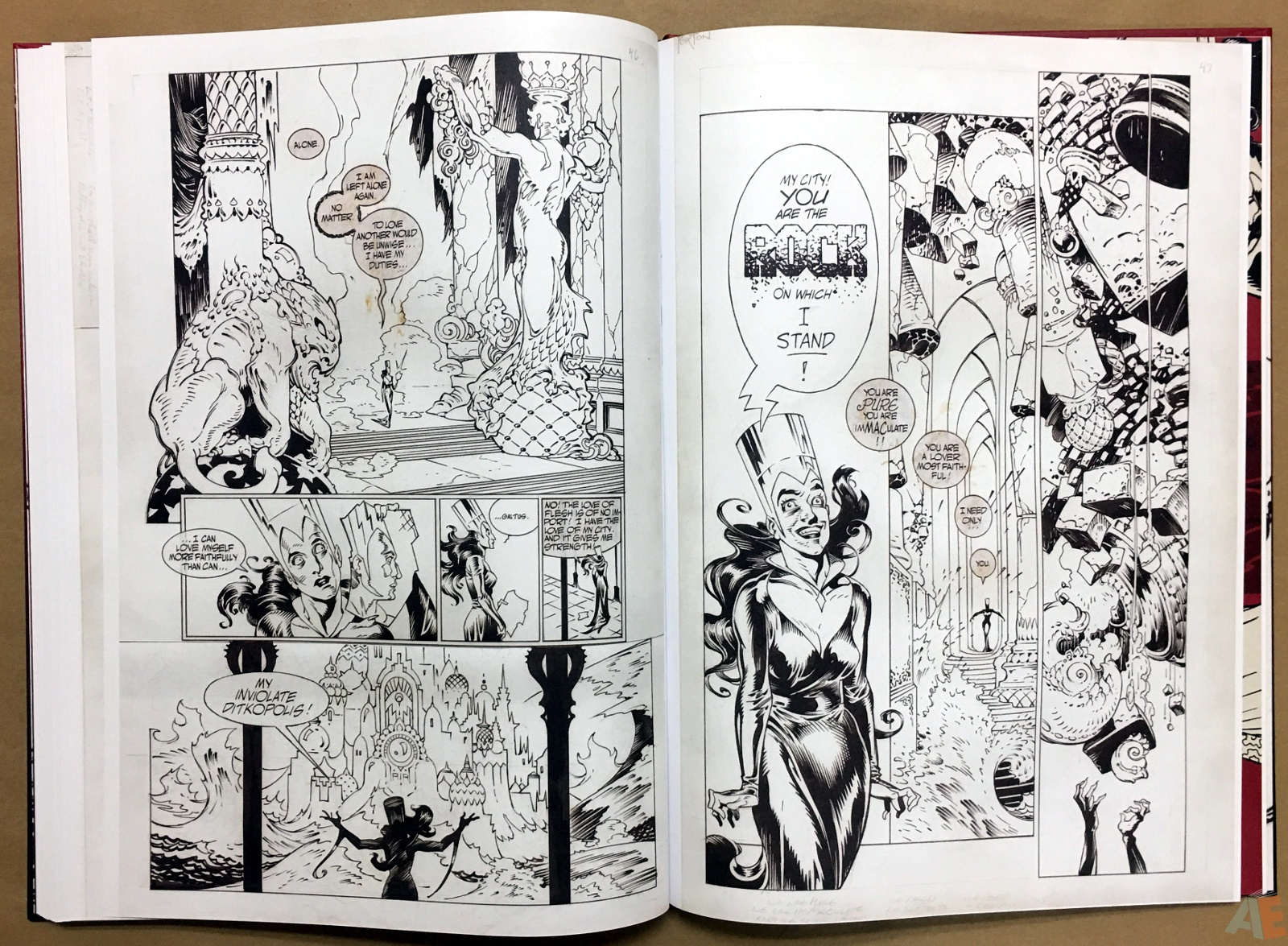 P. Craig Russell's Strange Dreams Artist's Edition 44