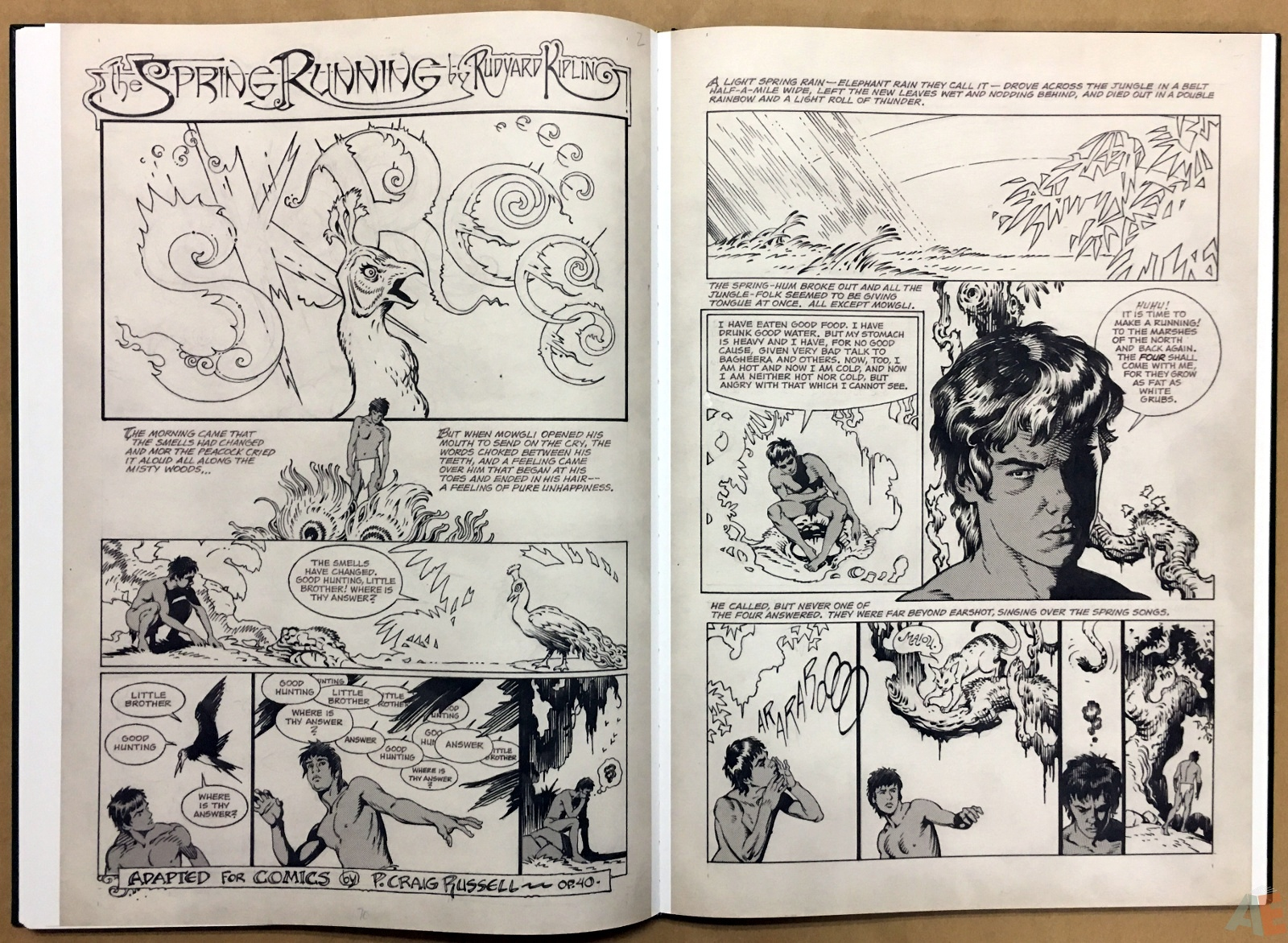 P. Craig Russell's Jungle Book And Other Stories Fine Art Edition 22