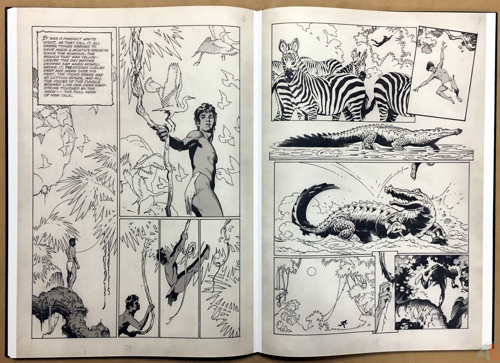 P. Craig Russell's Jungle Book And Other Stories Fine Art Edition 24