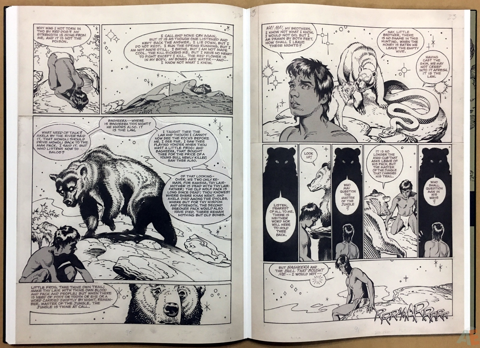 P. Craig Russell's Jungle Book And Other Stories Fine Art Edition 28