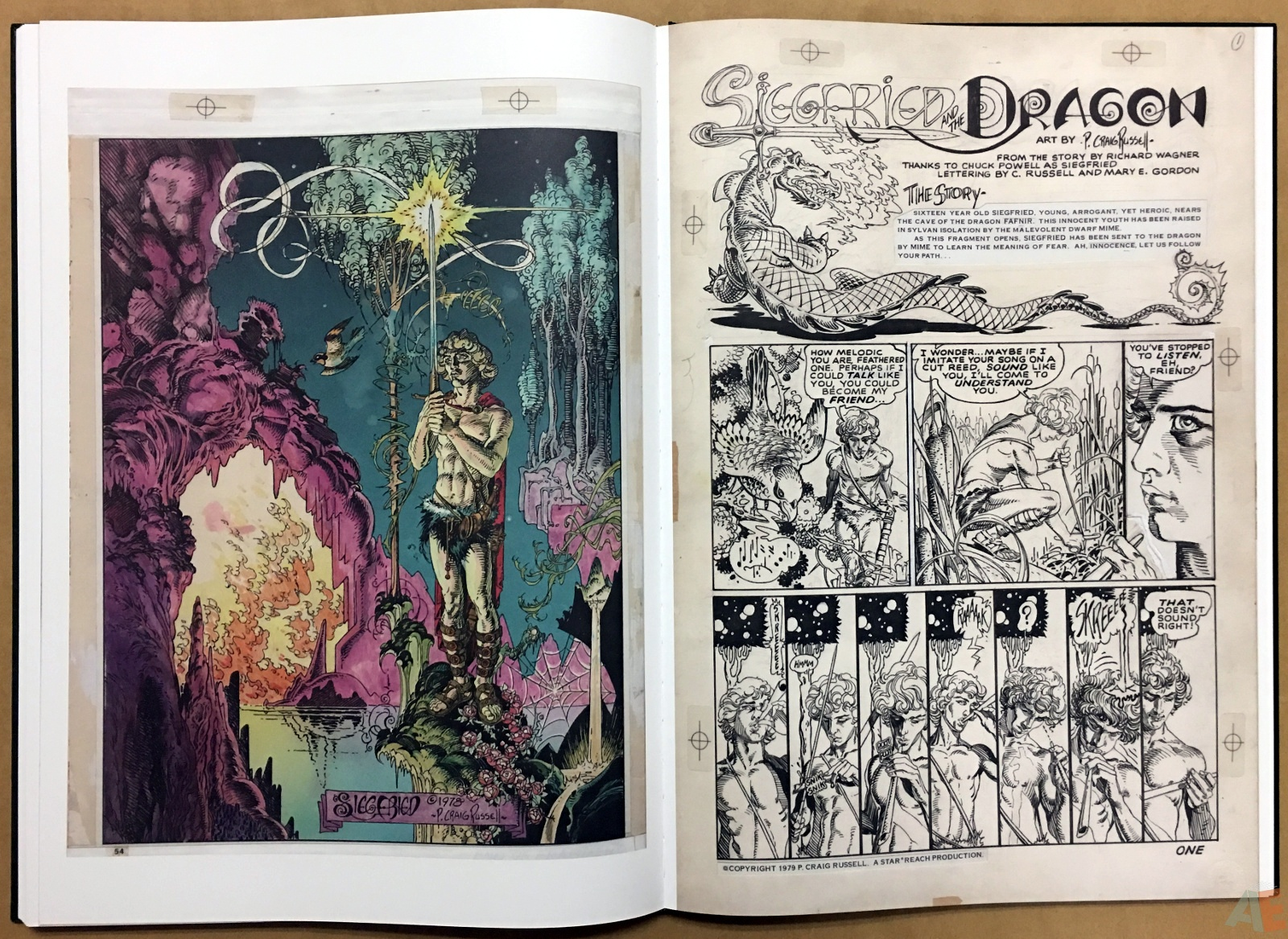 P. Craig Russell's Jungle Book And Other Stories Fine Art Edition 30