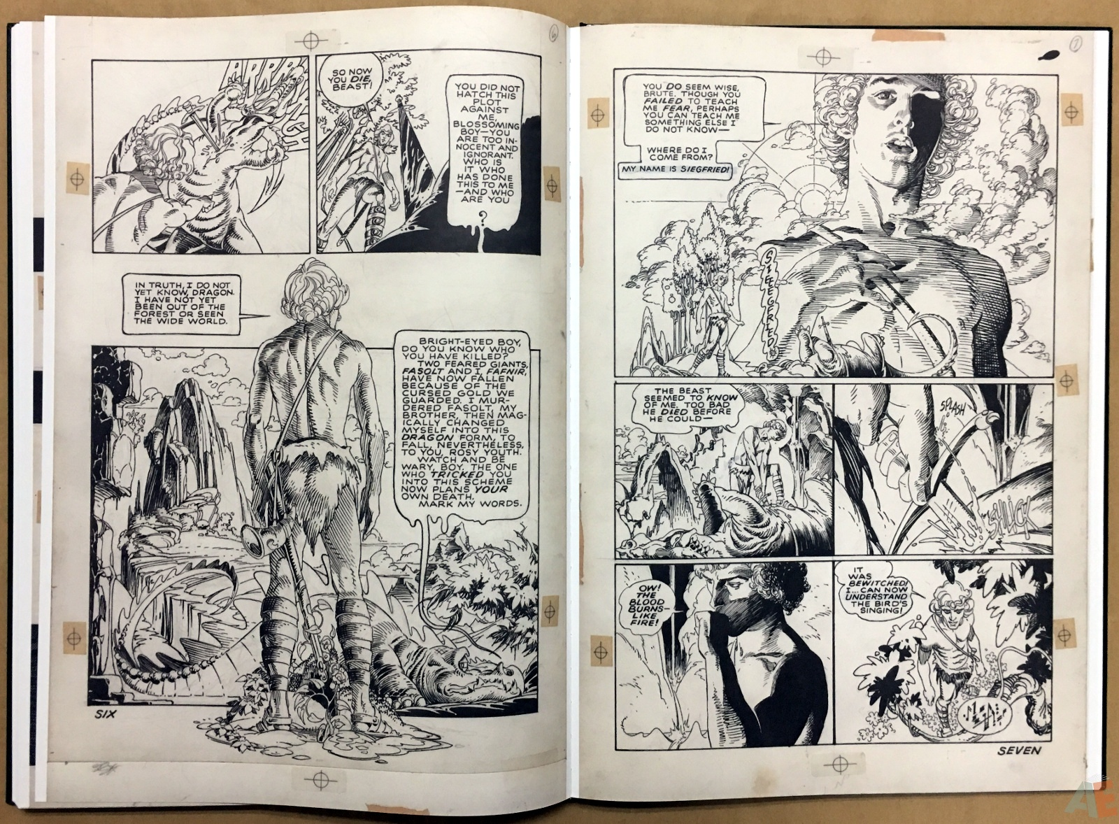 P. Craig Russell's Jungle Book And Other Stories Fine Art Edition 32