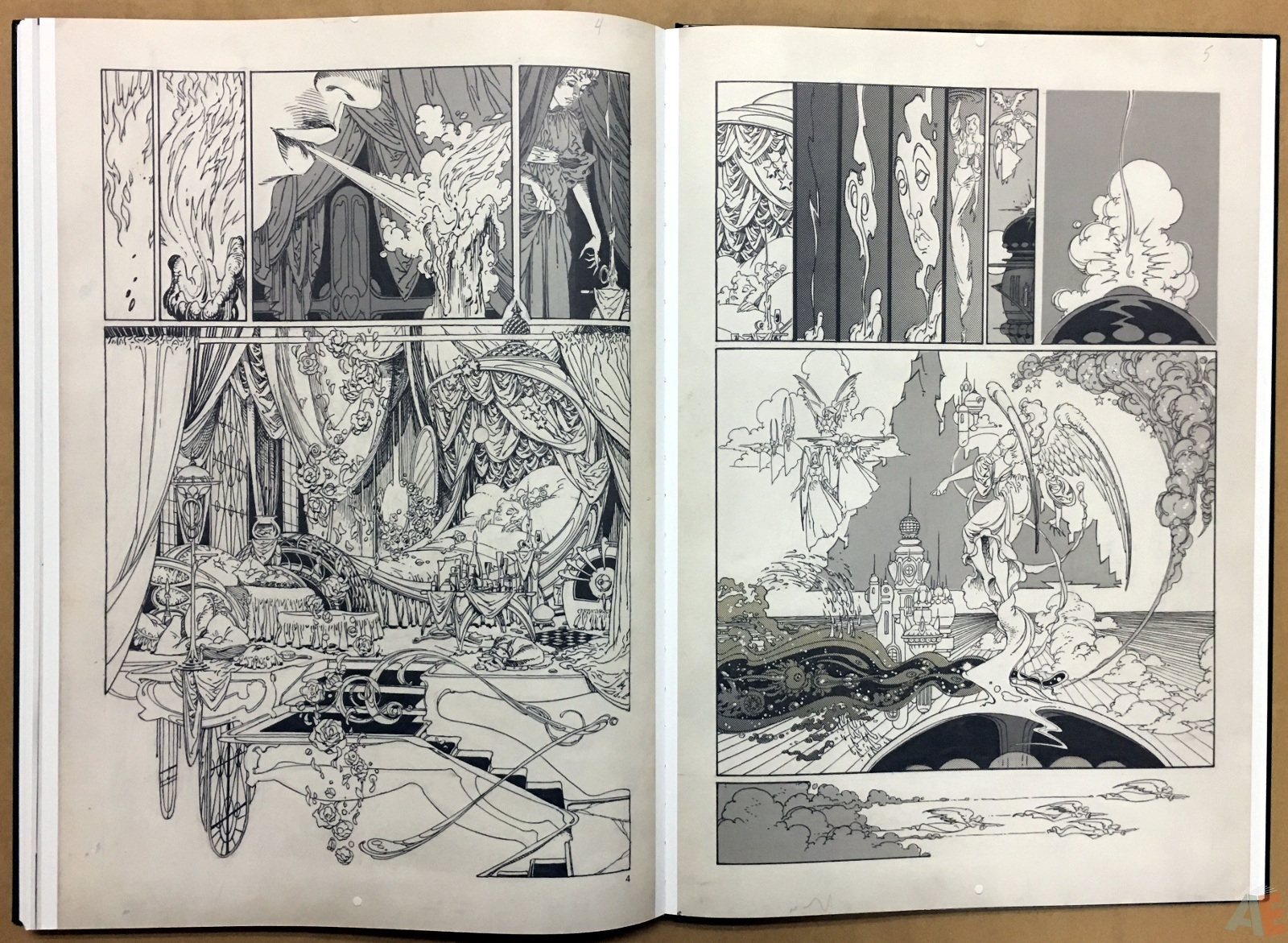 P. Craig Russell's Jungle Book And Other Stories Fine Art Edition 34
