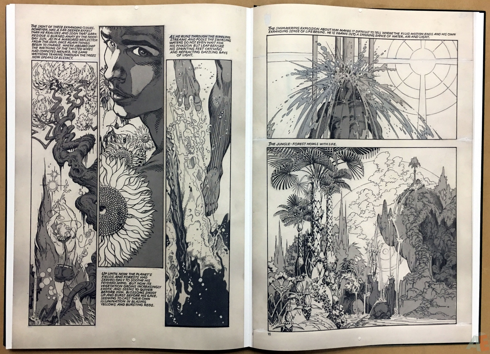 P. Craig Russell's Jungle Book And Other Stories Fine Art Edition 40