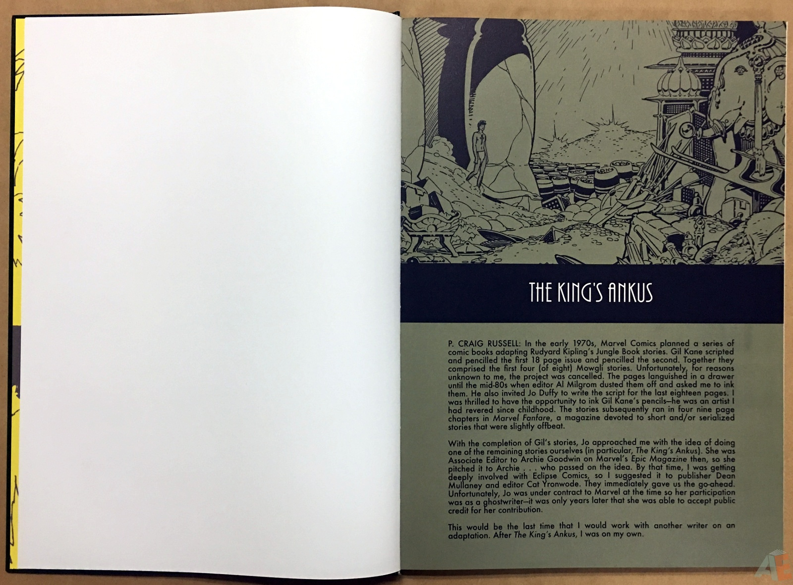 P. Craig Russell's Jungle Book And Other Stories Fine Art Edition 6