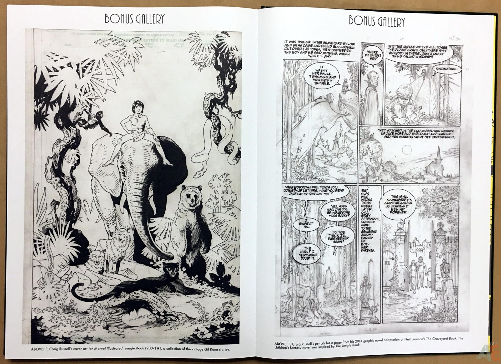 P. Craig Russell's Jungle Book And Other Stories Fine Art Edition 44
