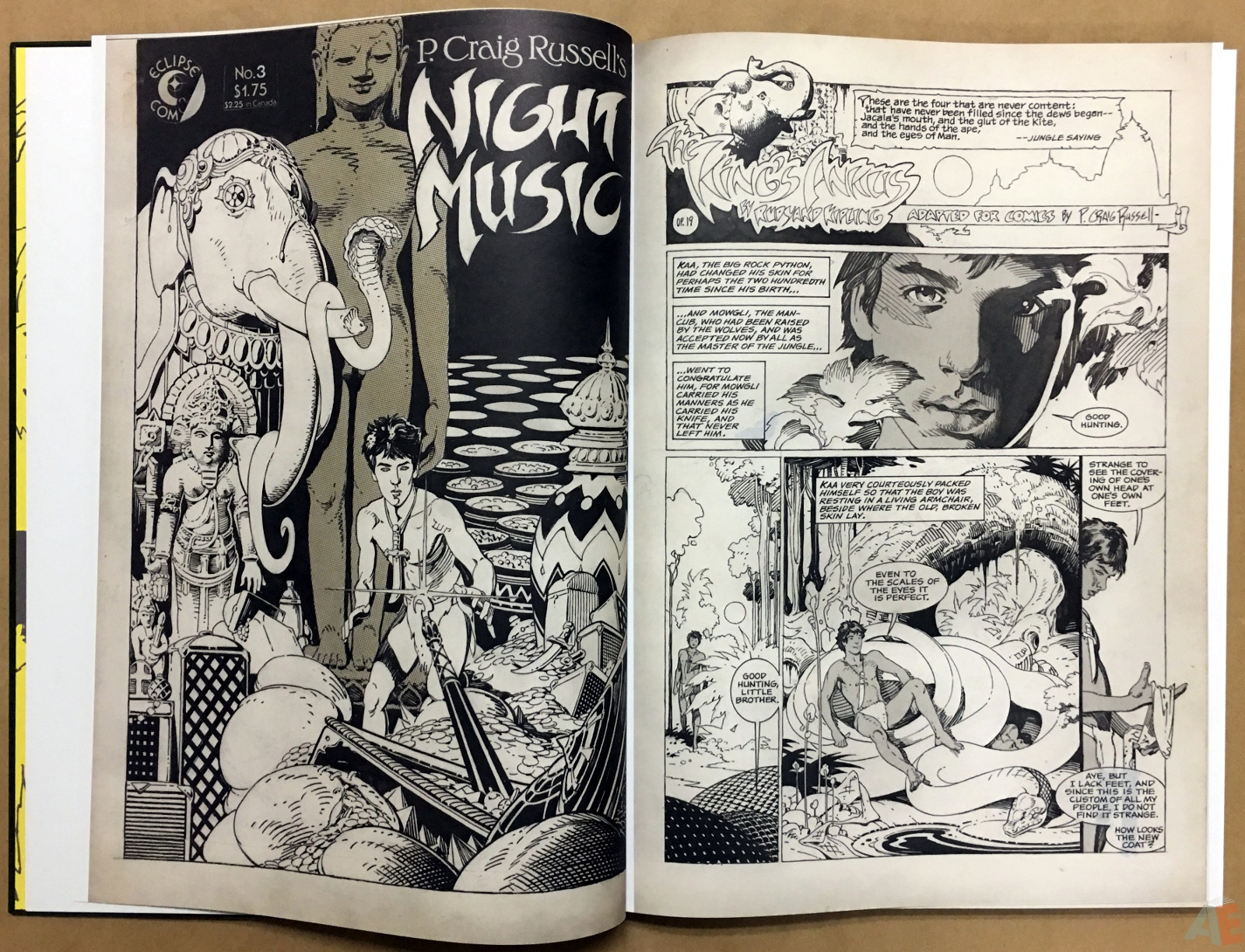 P. Craig Russell's Jungle Book And Other Stories Fine Art Edition 8