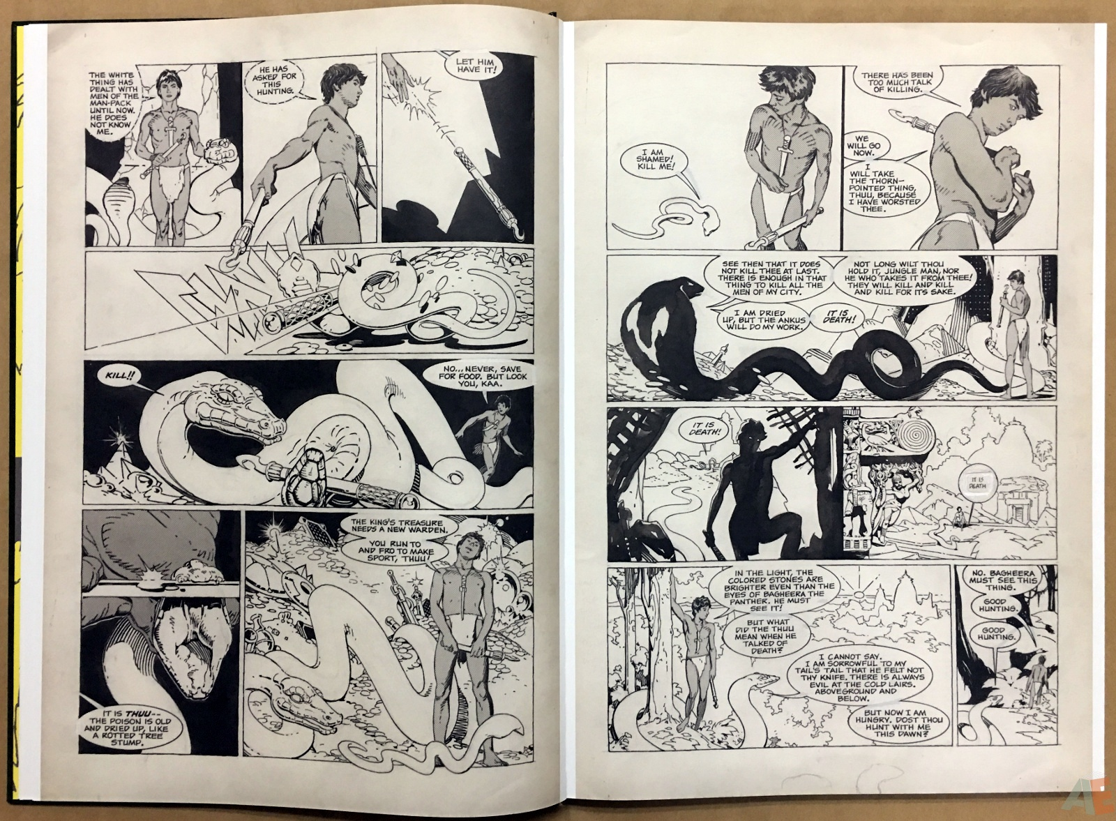 P. Craig Russell's Jungle Book And Other Stories Fine Art Edition 10