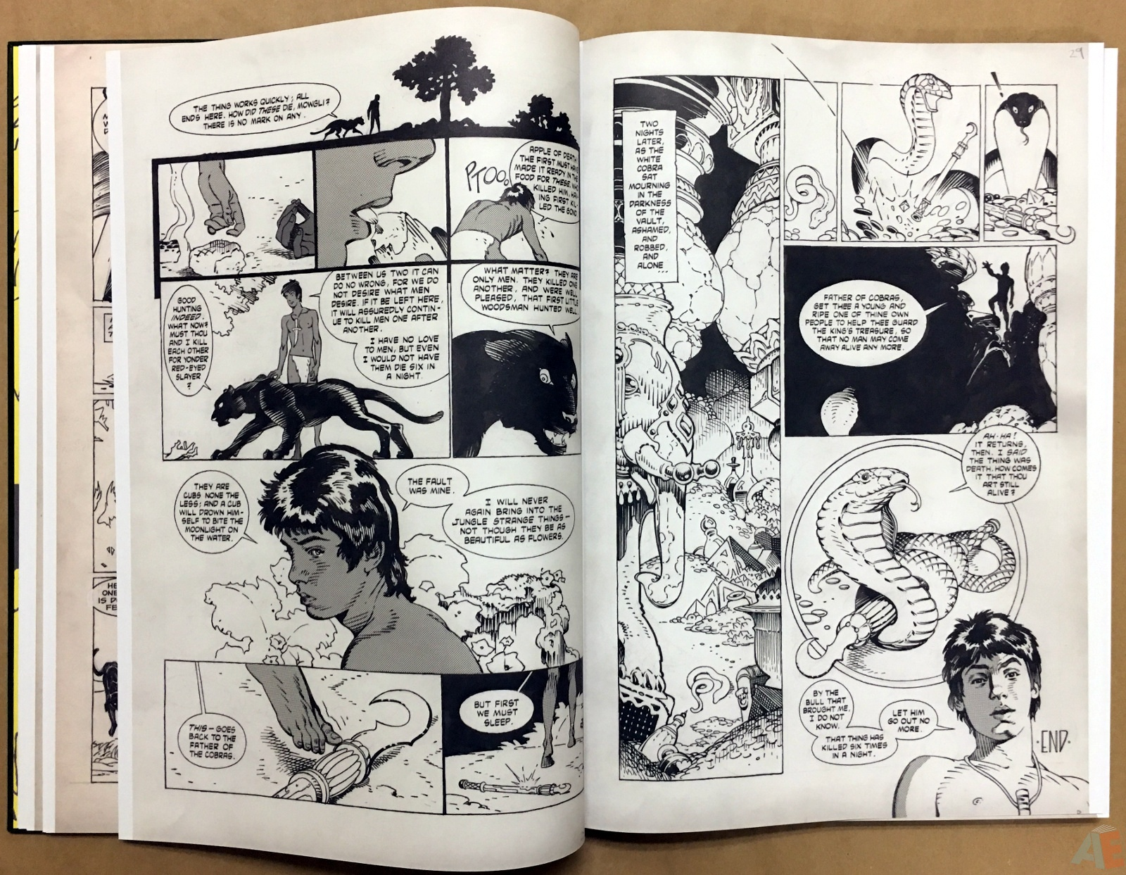 P. Craig Russell's Jungle Book And Other Stories Fine Art Edition 12