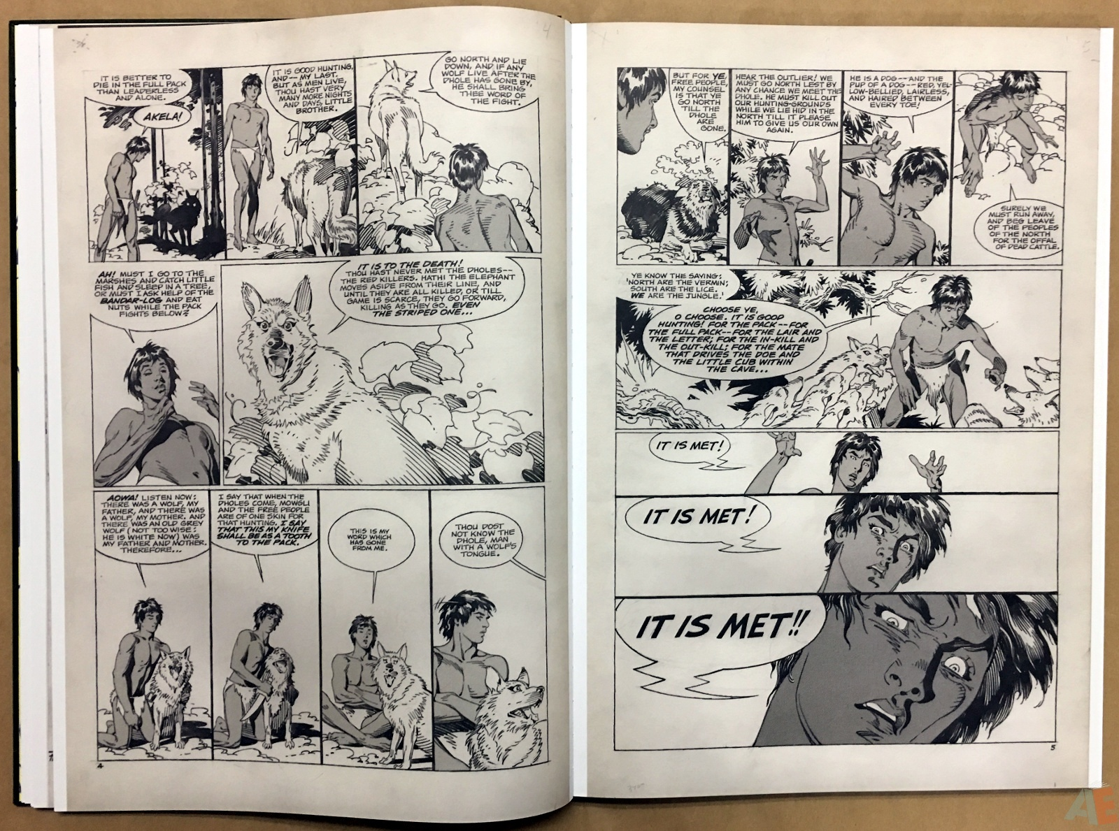 P. Craig Russell's Jungle Book And Other Stories Fine Art Edition 14