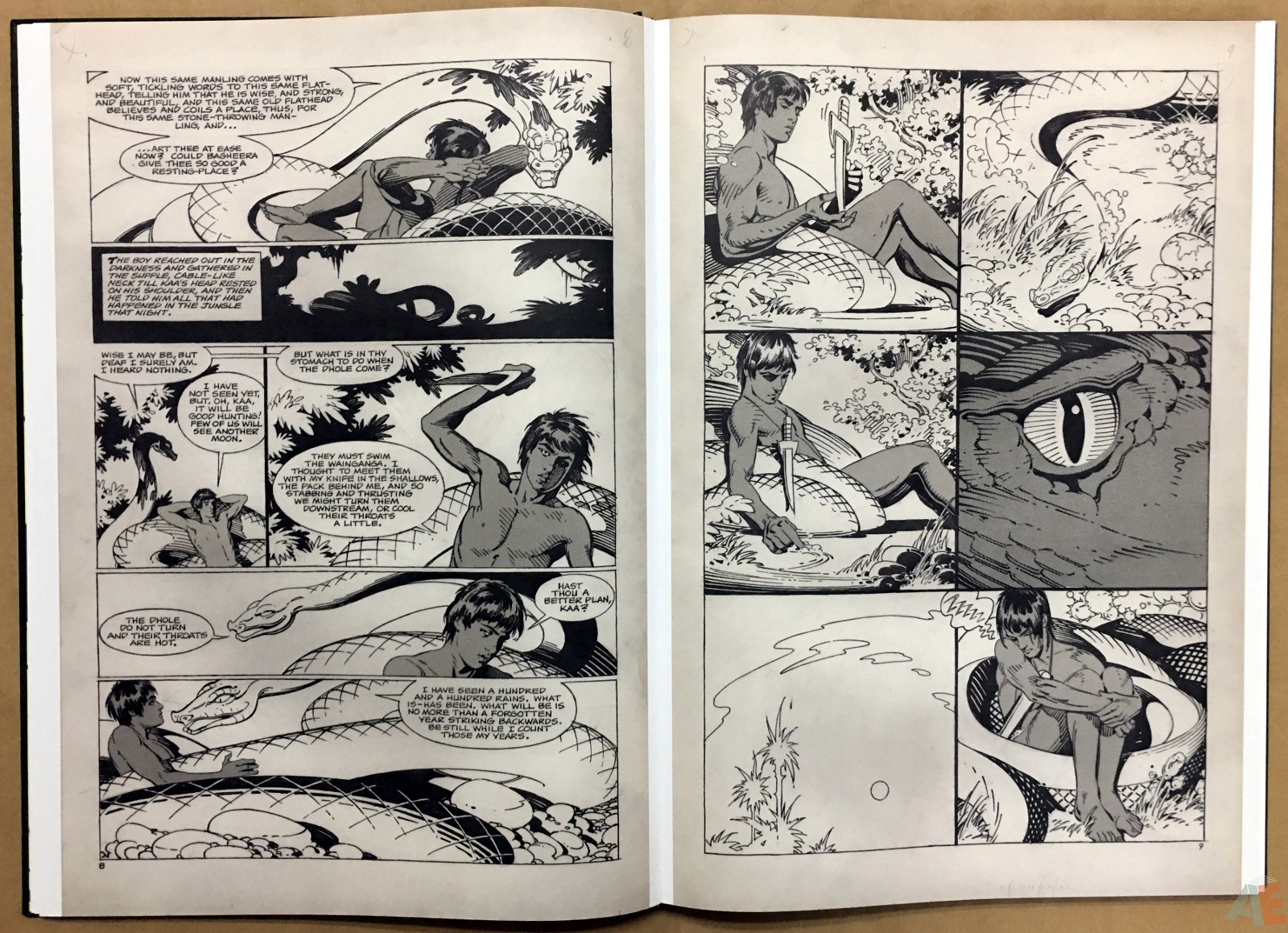 P. Craig Russell's Jungle Book And Other Stories Fine Art Edition 16