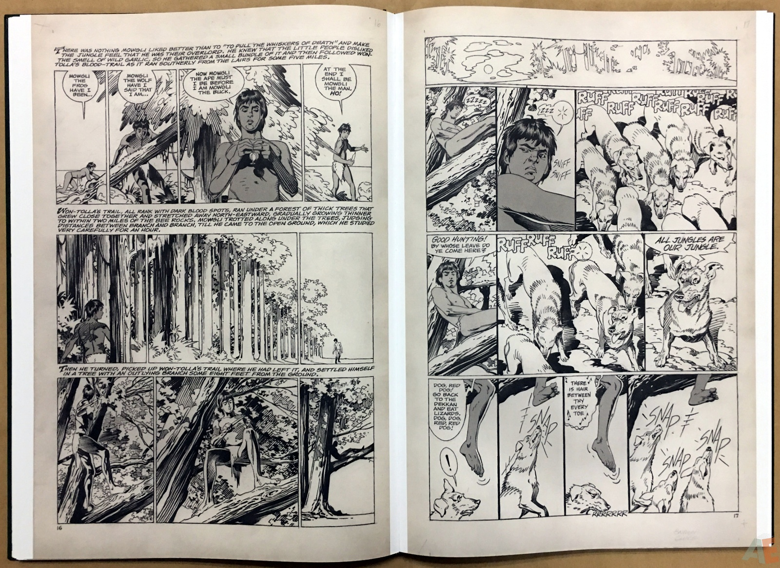 P. Craig Russell's Jungle Book And Other Stories Fine Art Edition 18