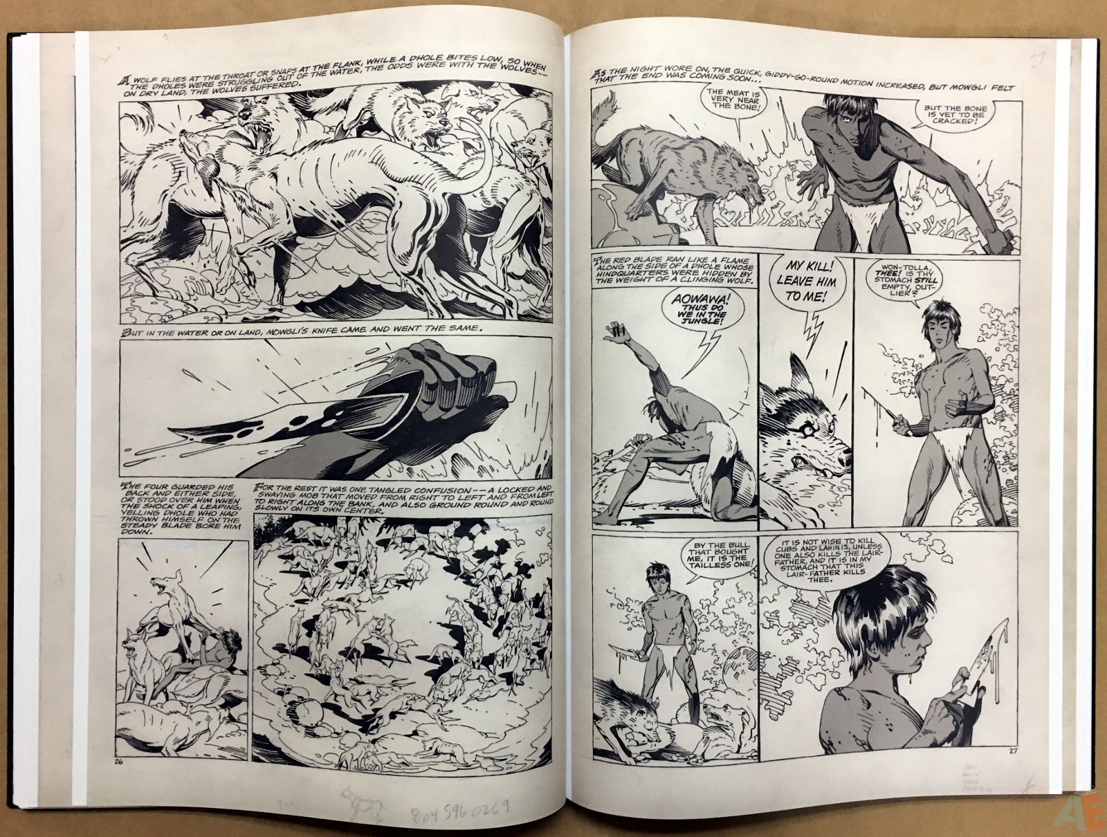 P. Craig Russell's Jungle Book And Other Stories Fine Art Edition 20