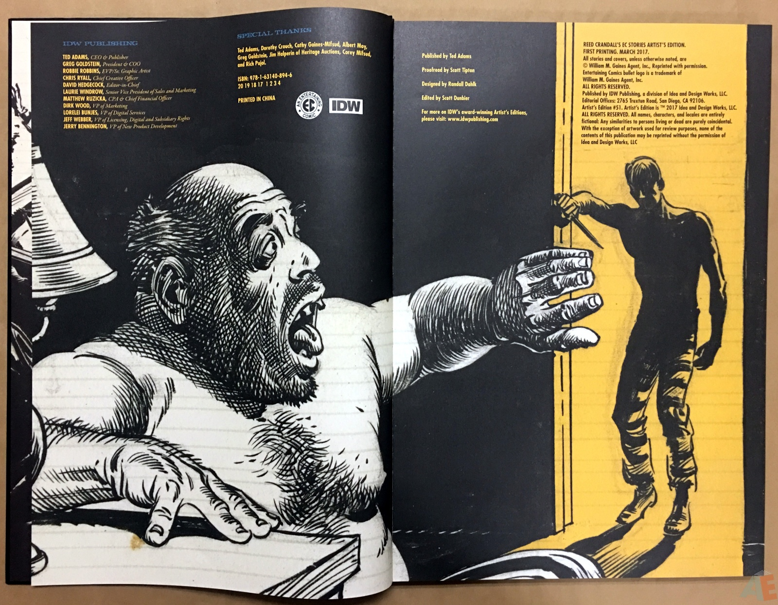 Reed Crandall's EC Stories Artist's Edition 4