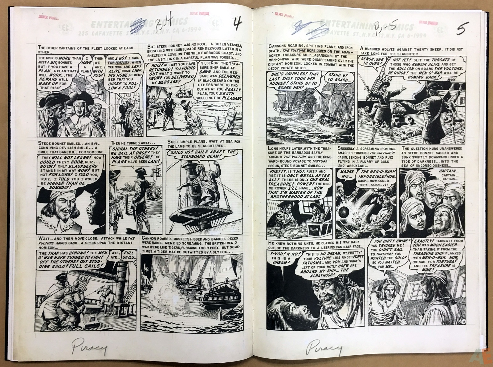 Reed Crandall's EC Stories Artist's Edition 22